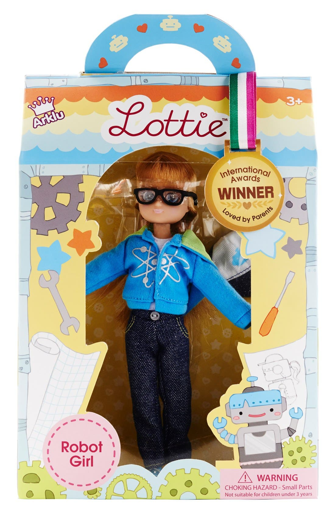 Alternate Image 7  - Schylling 'Lottie™ - Robot Girl' Doll