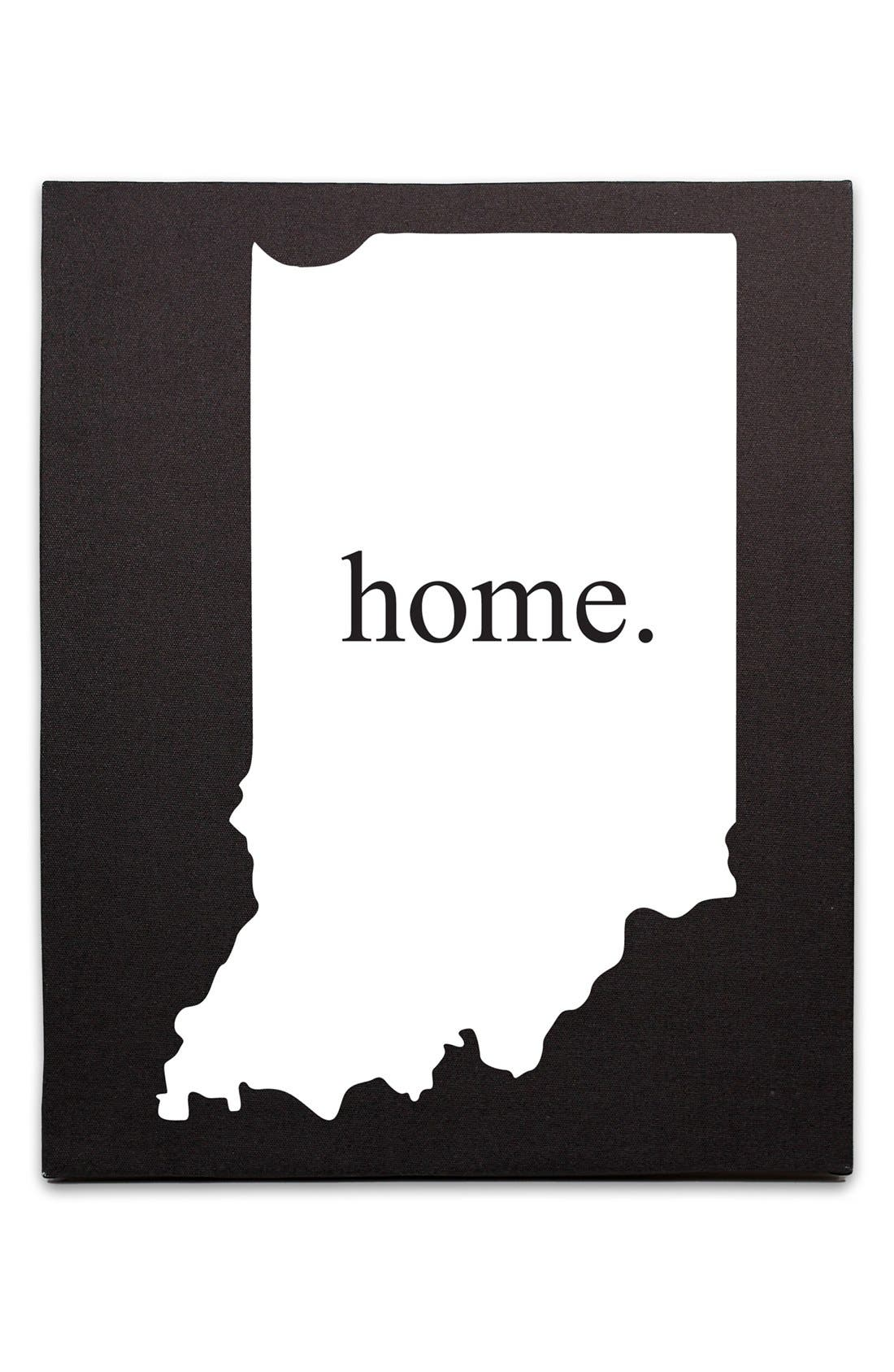 Main Image - Cathy's Concepts 'Home State' Canvas Wall Art