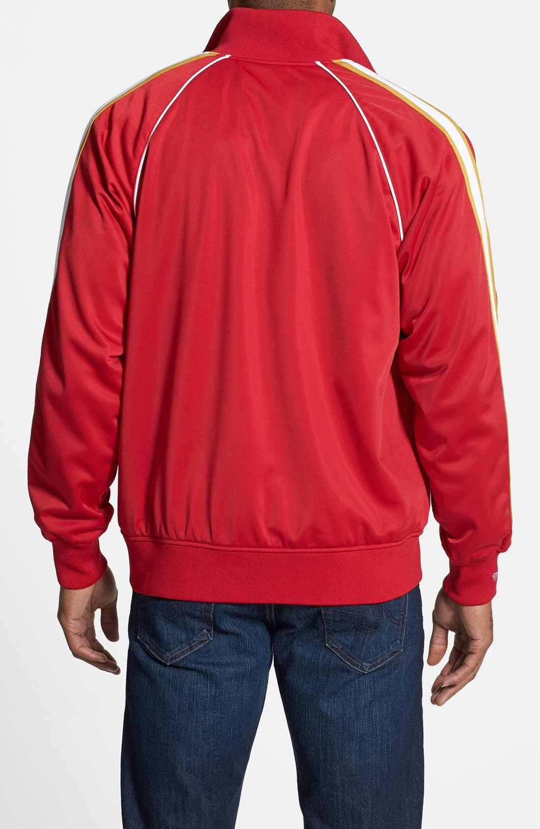 Alternate Image 2  - Mitchell & Ness 'Snap Pass - San Francisco 49ers' Track Jacket