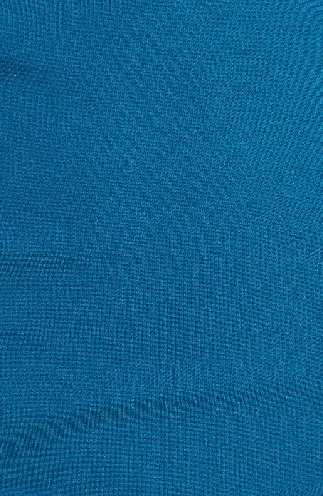 Alternate Image 3  - DKNYC Colorblock Faux Leather Trim Dress
