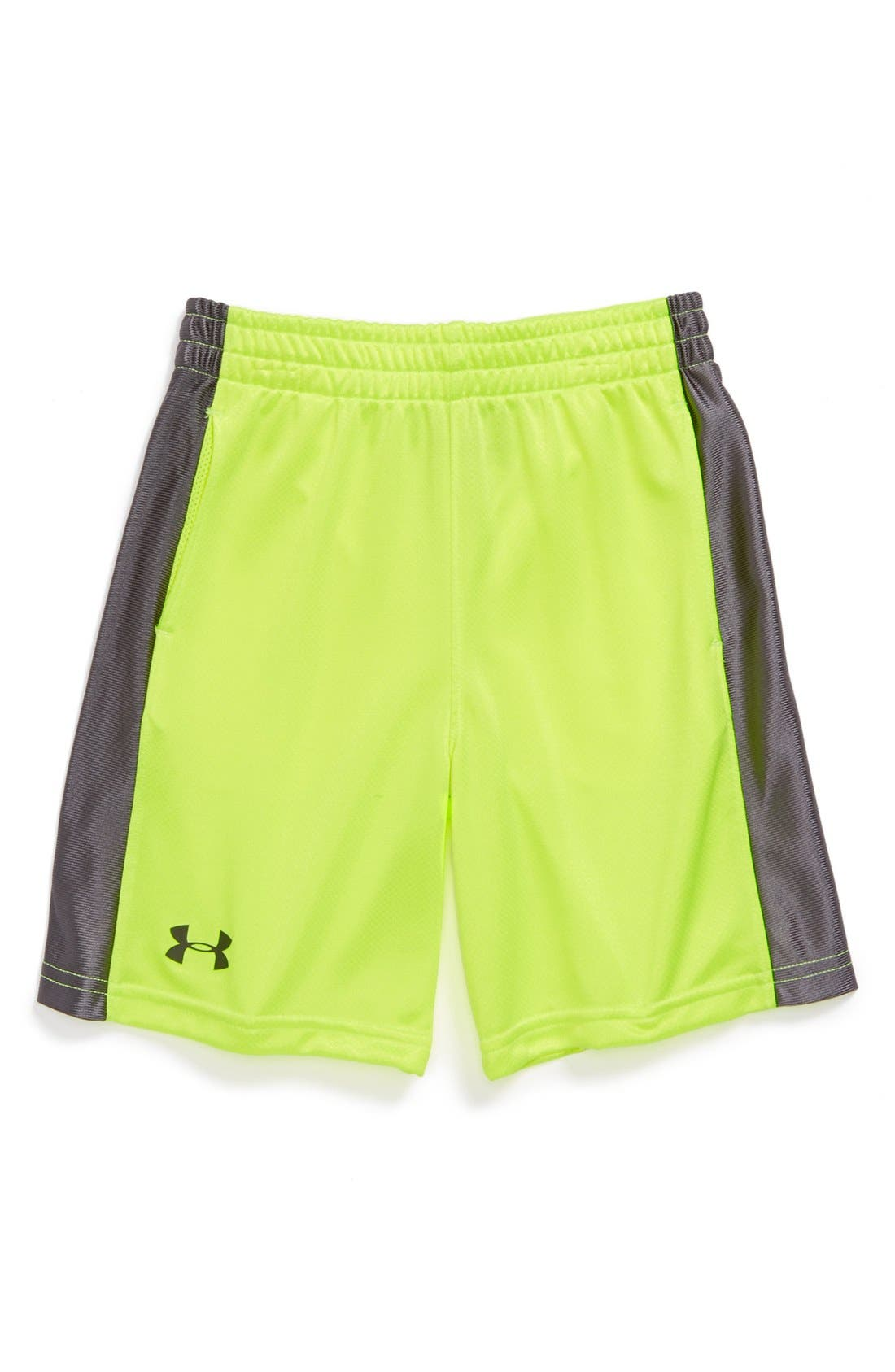 Alternate Image 1 Selected - Under Armour 'Pop Ultimate' Shorts (Little Boys)
