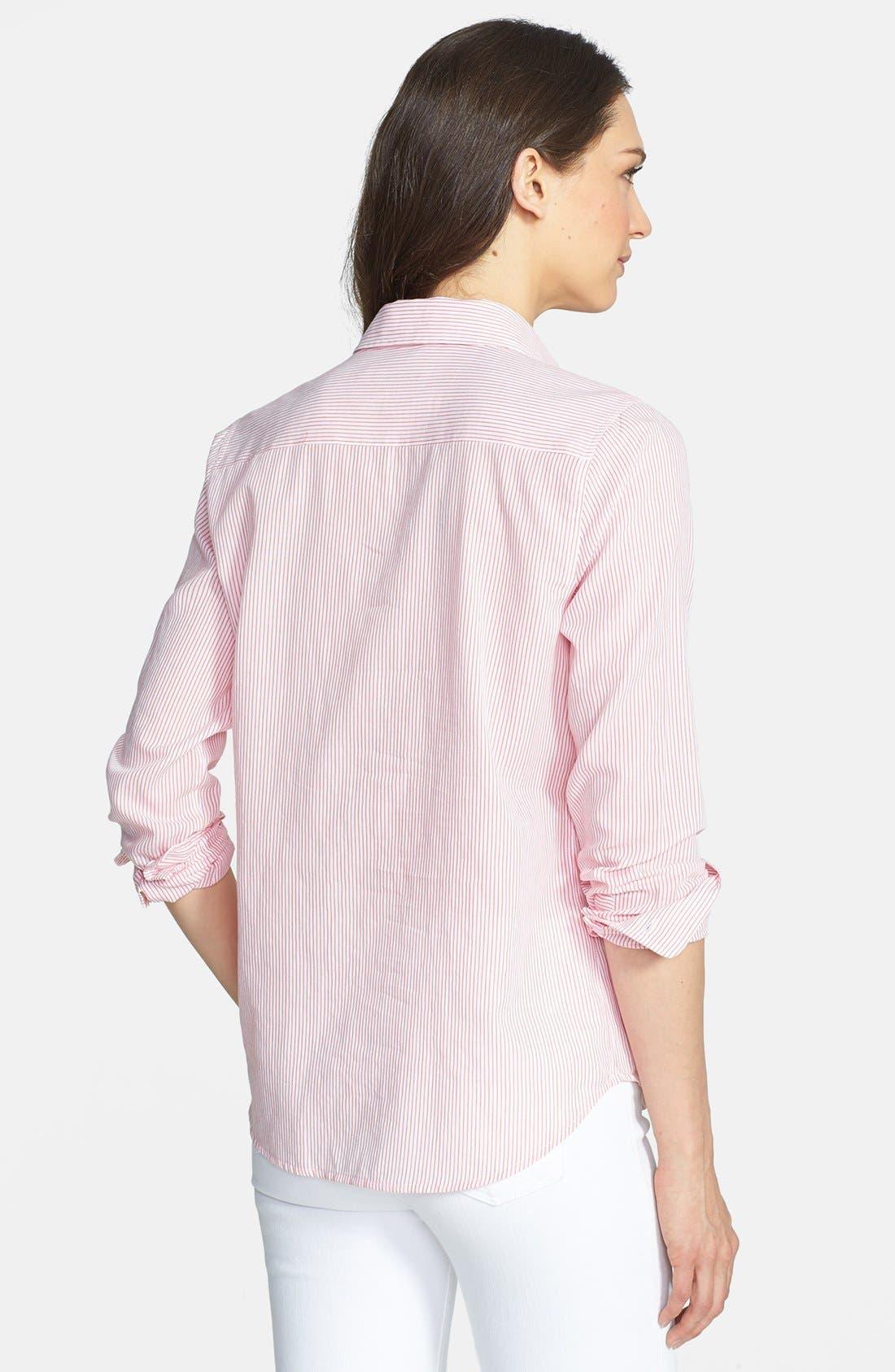 Alternate Image 2  - Equipment 'Brett' Stripe Cotton Shirt