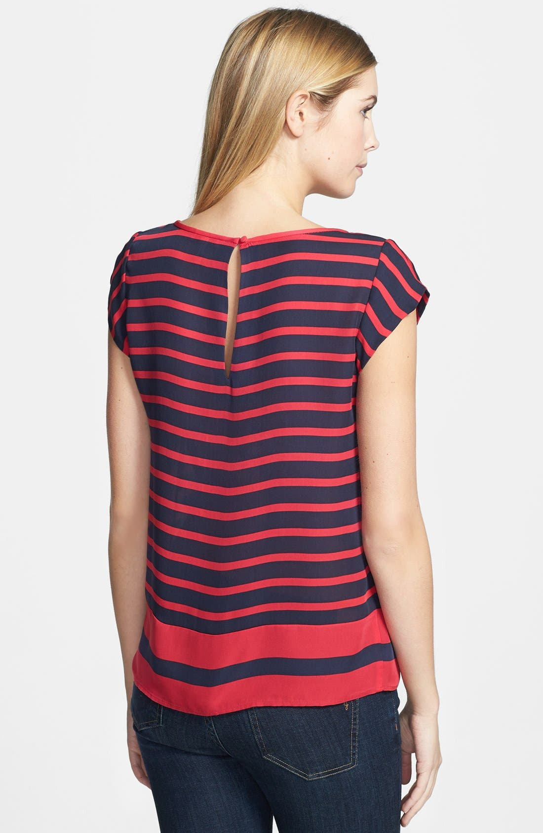 Alternate Image 2  - Joie 'Terry B.' Stripe Silk Top