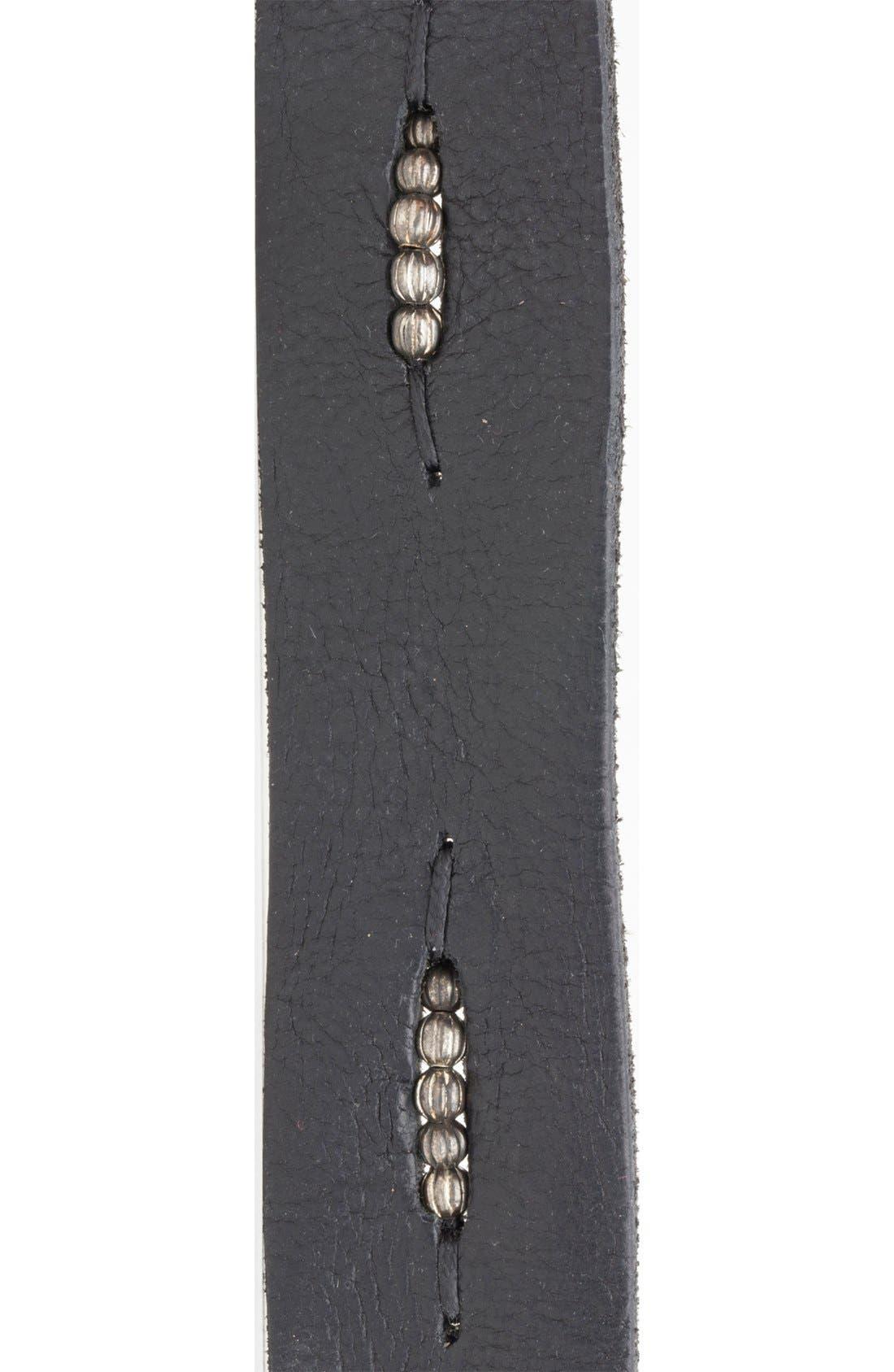 Alternate Image 2  - Will Leather Goods 'Anselm' Belt