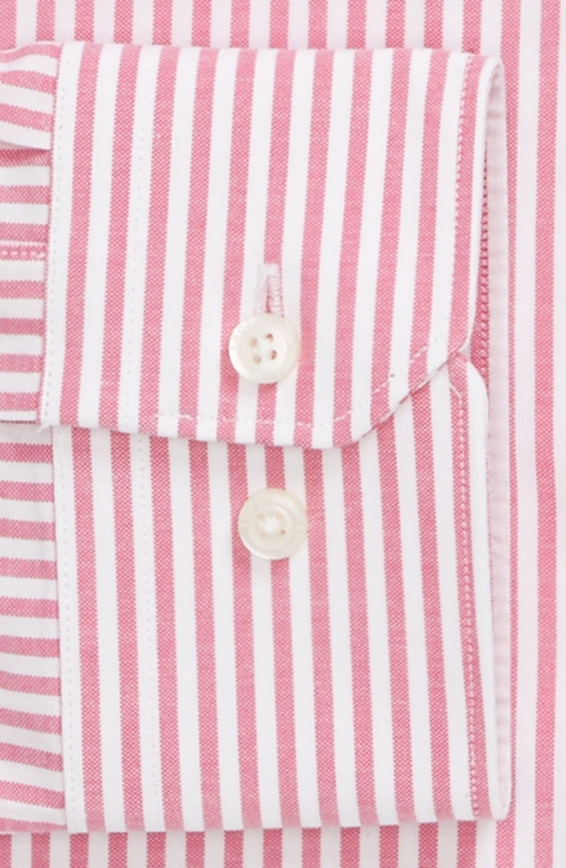Alternate Image 2  - 1901 Trim Fit Stripe Dress Shirt