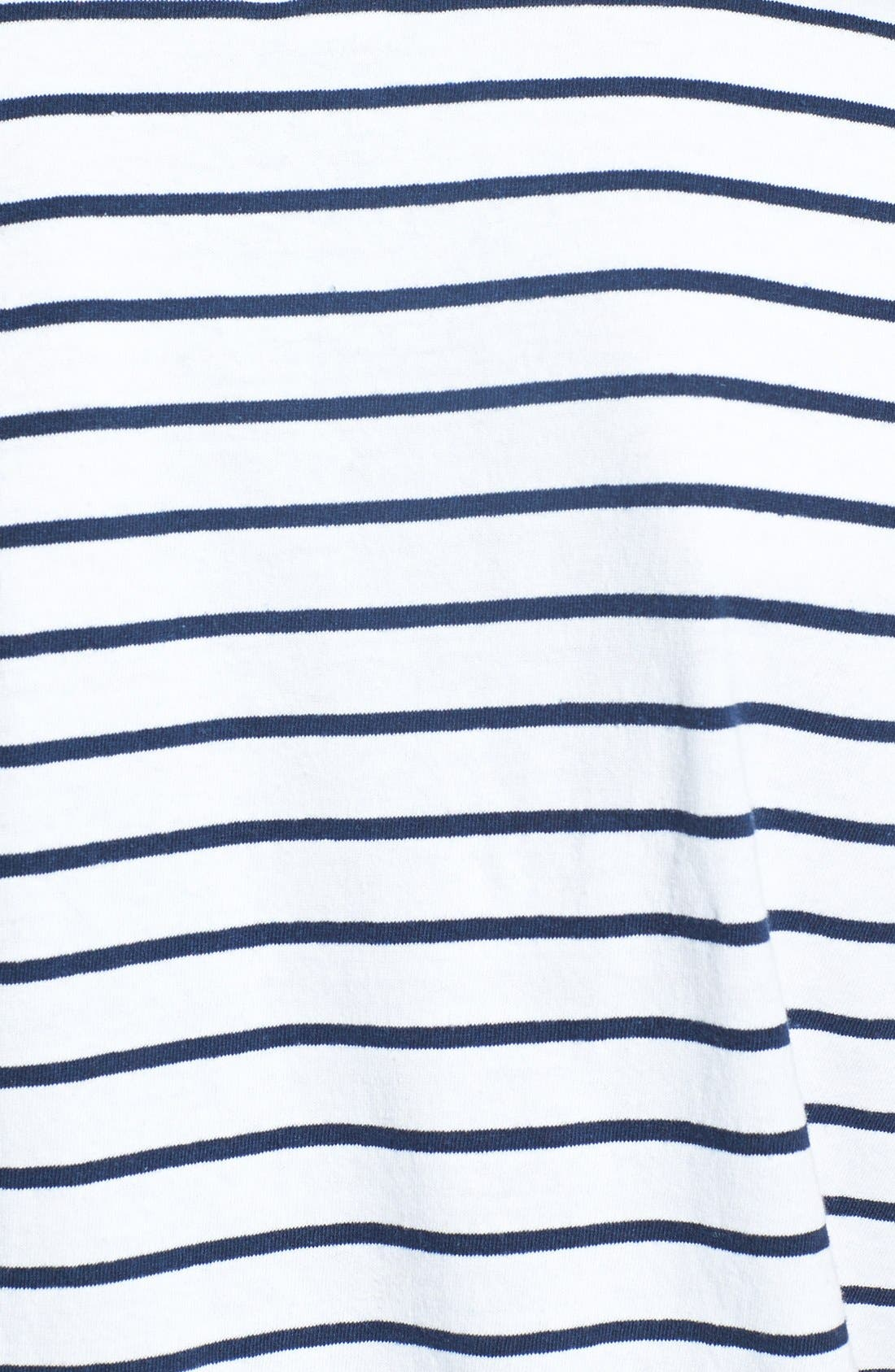Alternate Image 3  - Obey 'Charter' Short Sleeve Stripe Henley T-Shirt