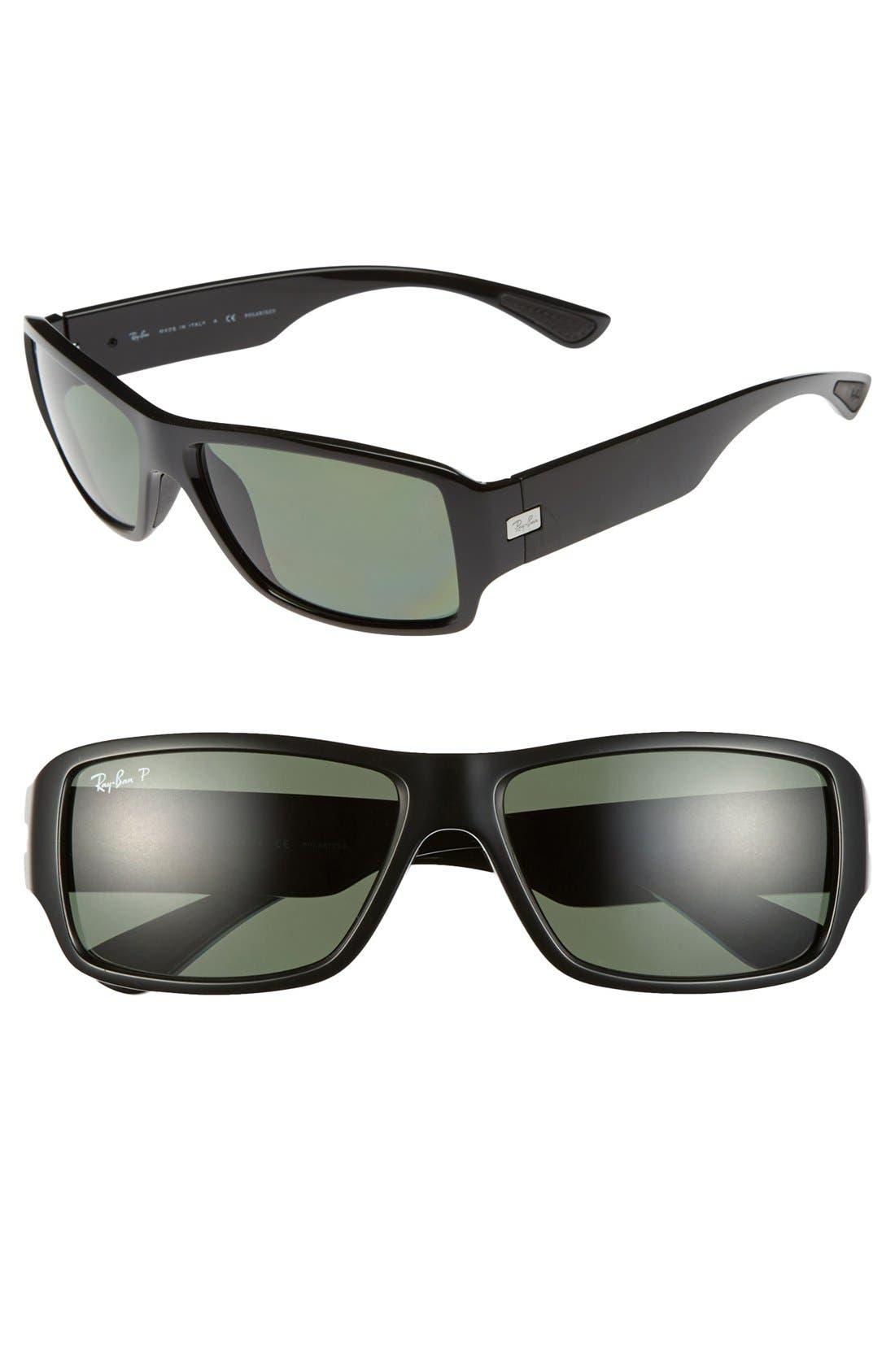 Main Image - Ray-Ban 61mm Polarized Sunglasses
