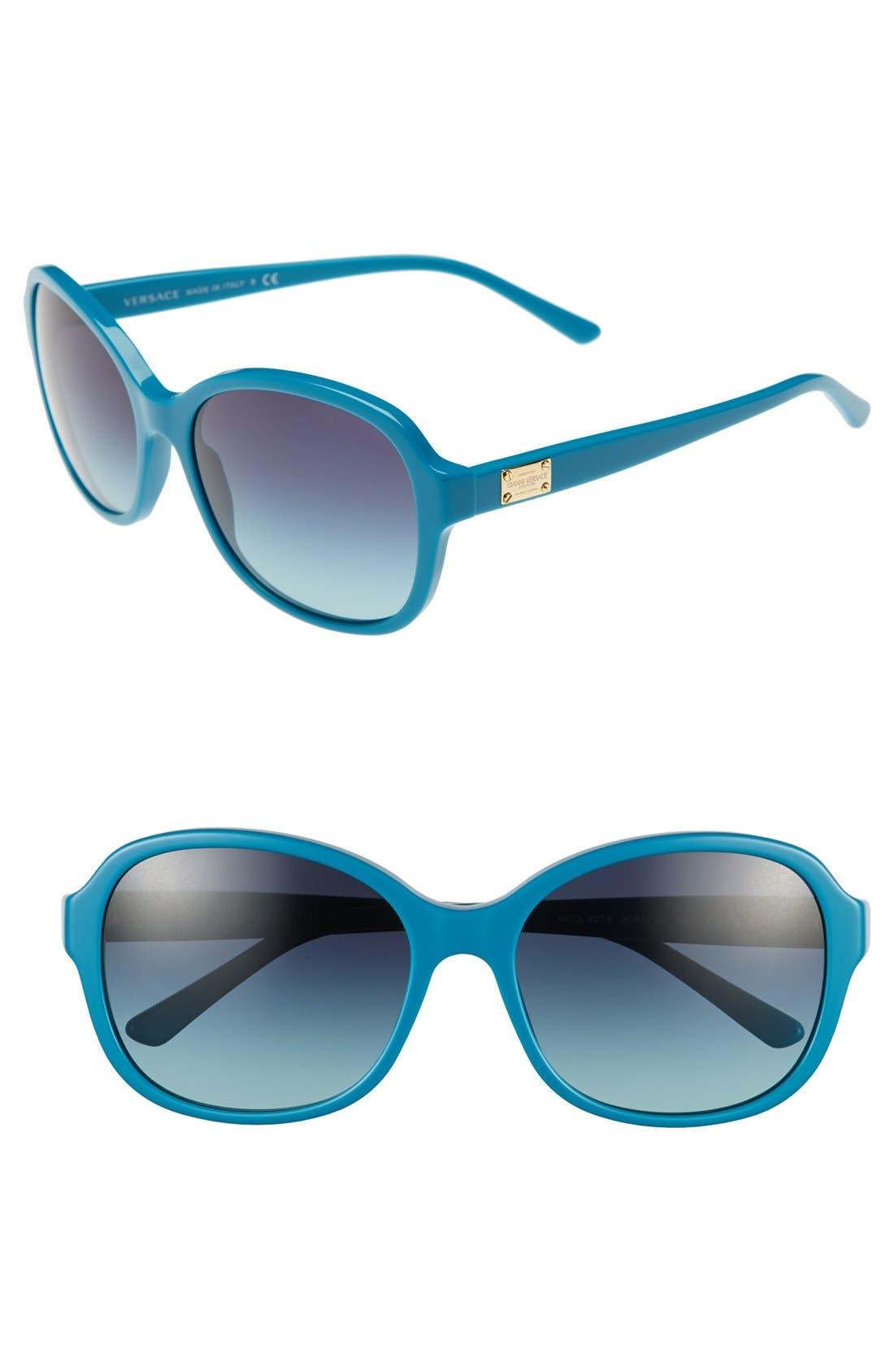 Main Image - Versace 'Pop Chic Culture' 58mm Sunglasses