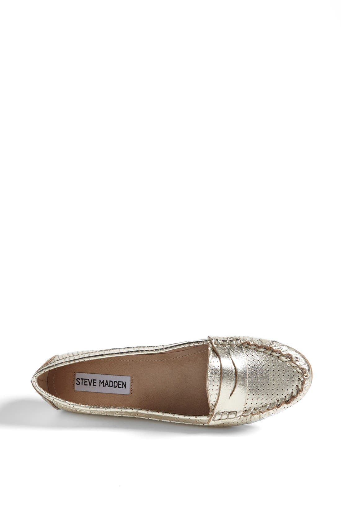 Alternate Image 3  - Steve Madden 'Murphey' Leather Flat