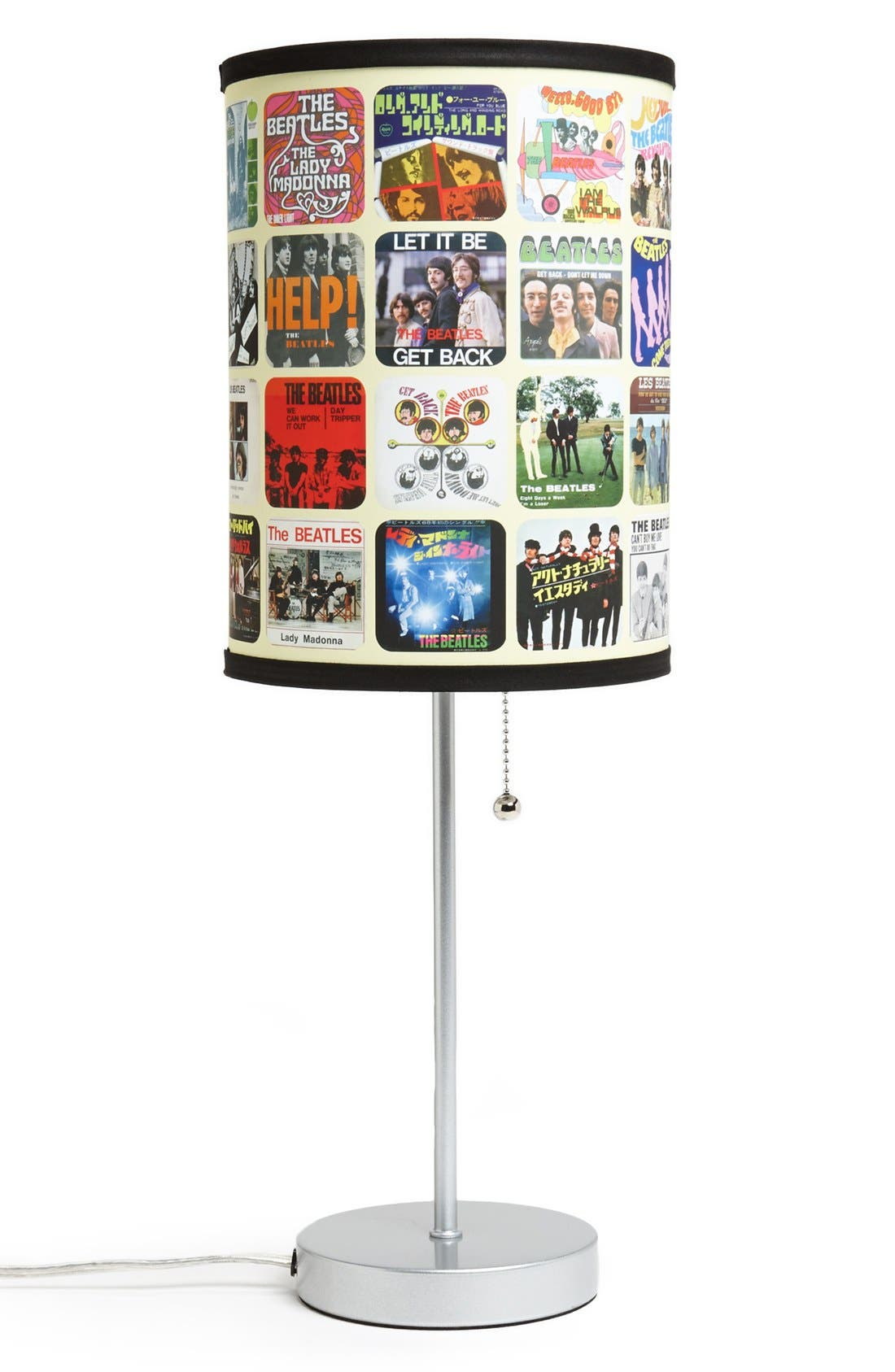 Alternate Image 2  - LAMP-IN-A-BOX 'The Beatles - Singles Covers' Table Lamp