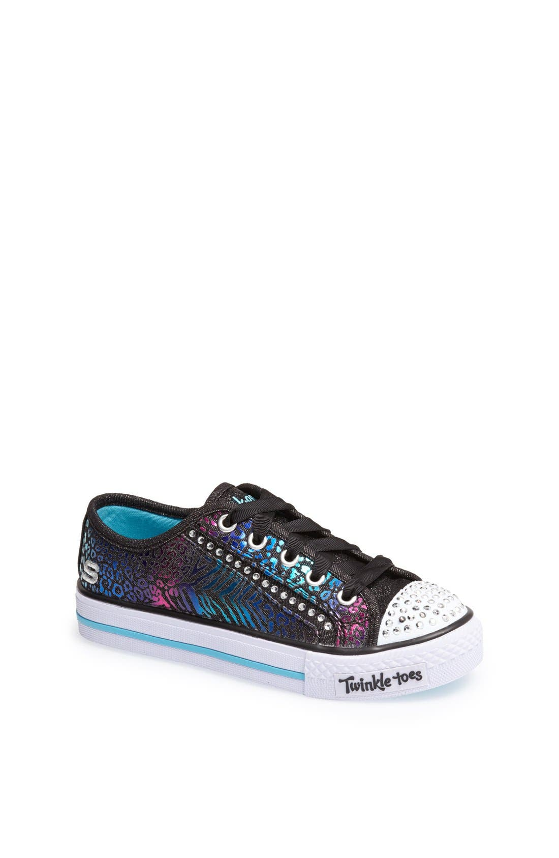 Main Image - SKECHERS 'Shuffles - Gimme Glam' Light Up Sneaker (Toddler, Little Kid & Big Kid)