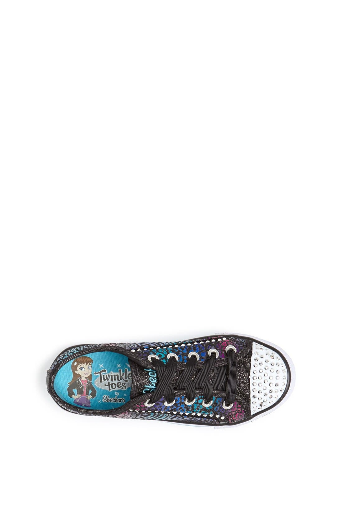 Alternate Image 3  - SKECHERS 'Shuffles - Gimme Glam' Light Up Sneaker (Toddler, Little Kid & Big Kid)