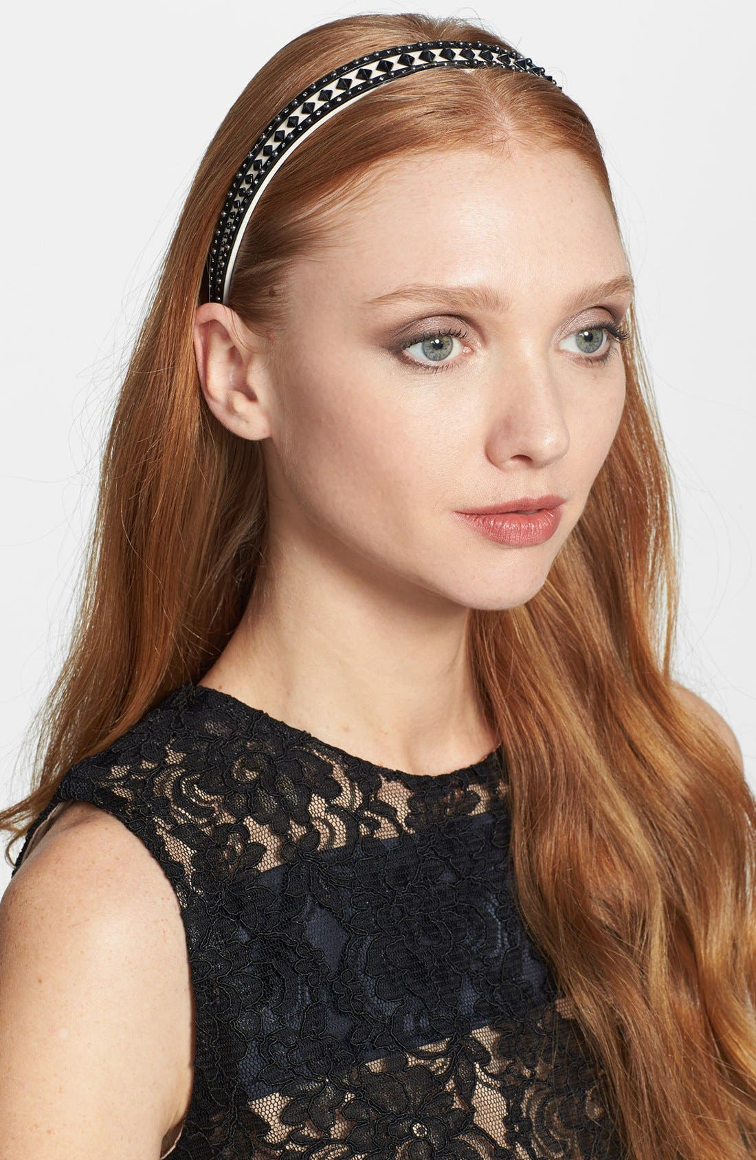 Alternate Image 1 Selected - L. Erickson Studded Headband