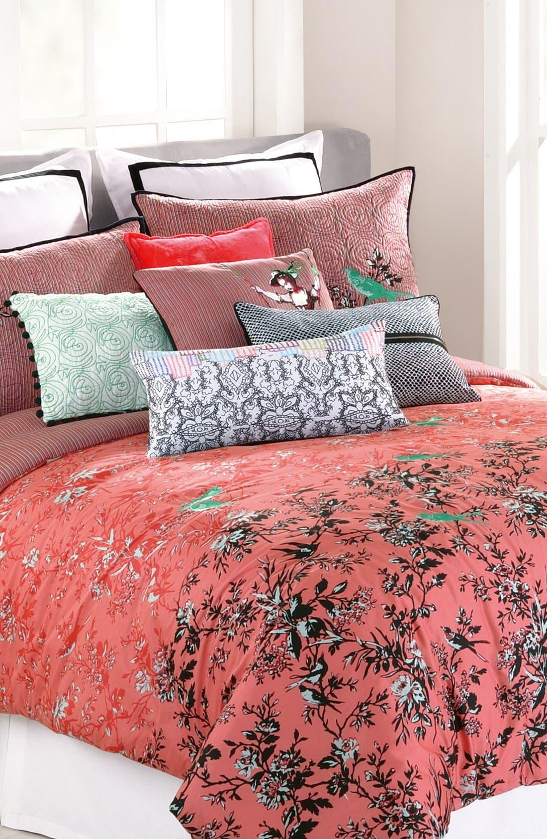 Alternate Image 1 Selected - Nanette Lepore Villa 'Botanical Porcelain' Print Cotton Comforter Set