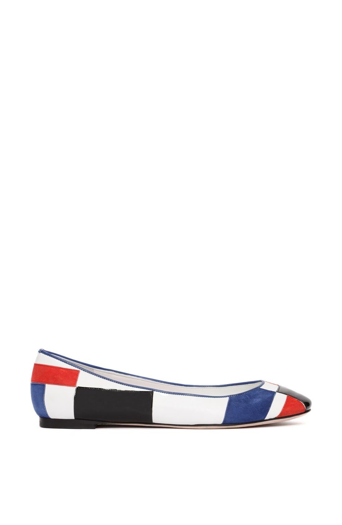 Alternate Image 4  - Alexander McQueen 'Mondrian' Ballet Flat