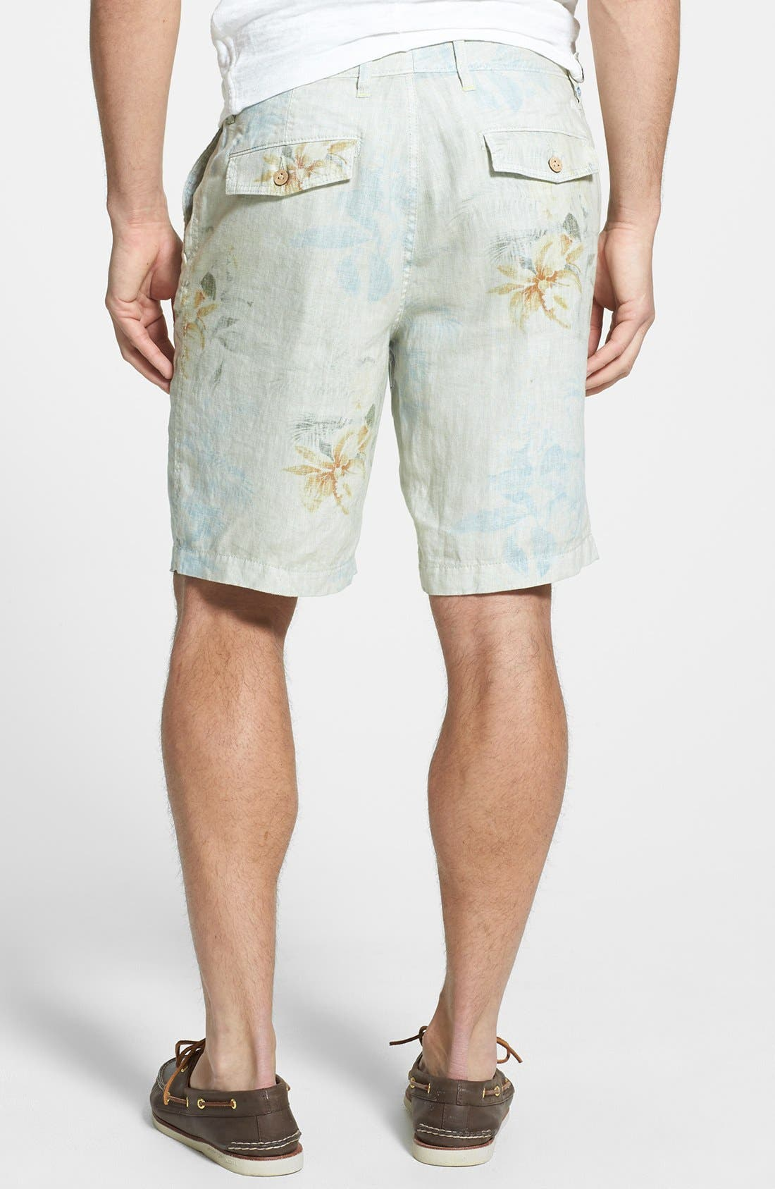 Alternate Image 2  - Tommy Bahama 'First Class' Flat Front Shorts