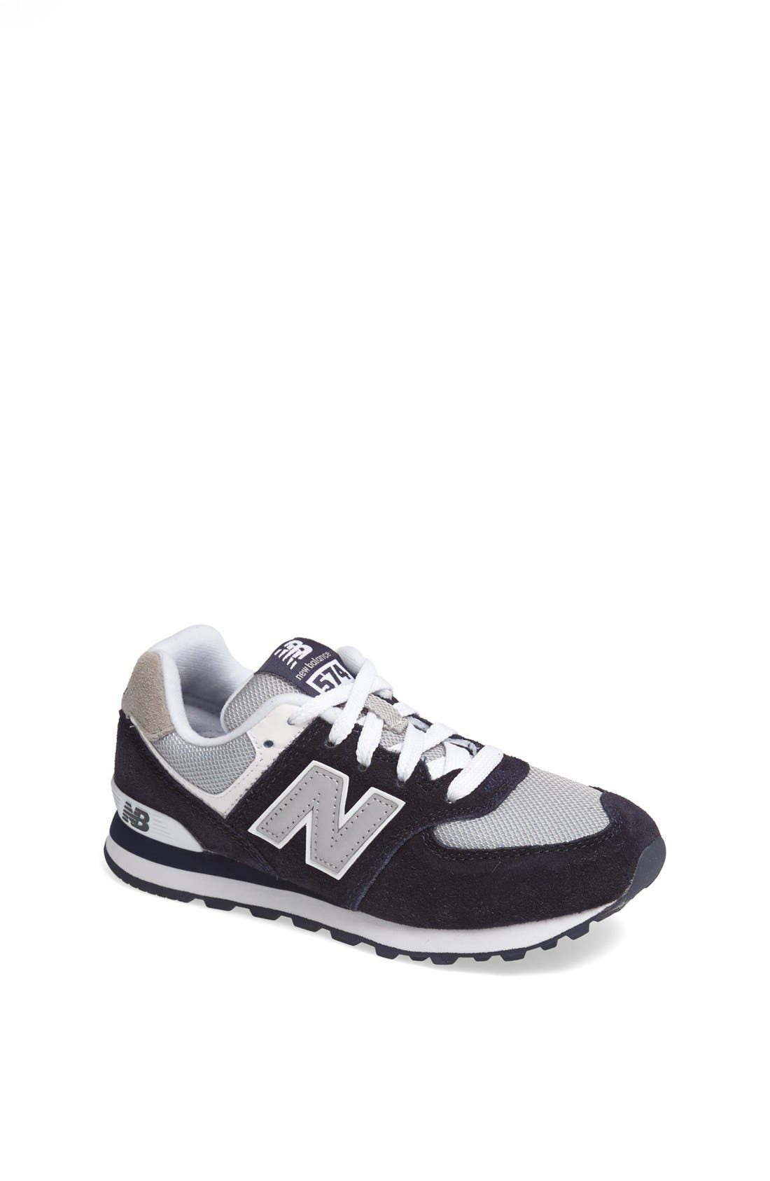 Alternate Image 1 Selected - New Balance '574 Classic' Sneaker (Toddler & Little Kid)