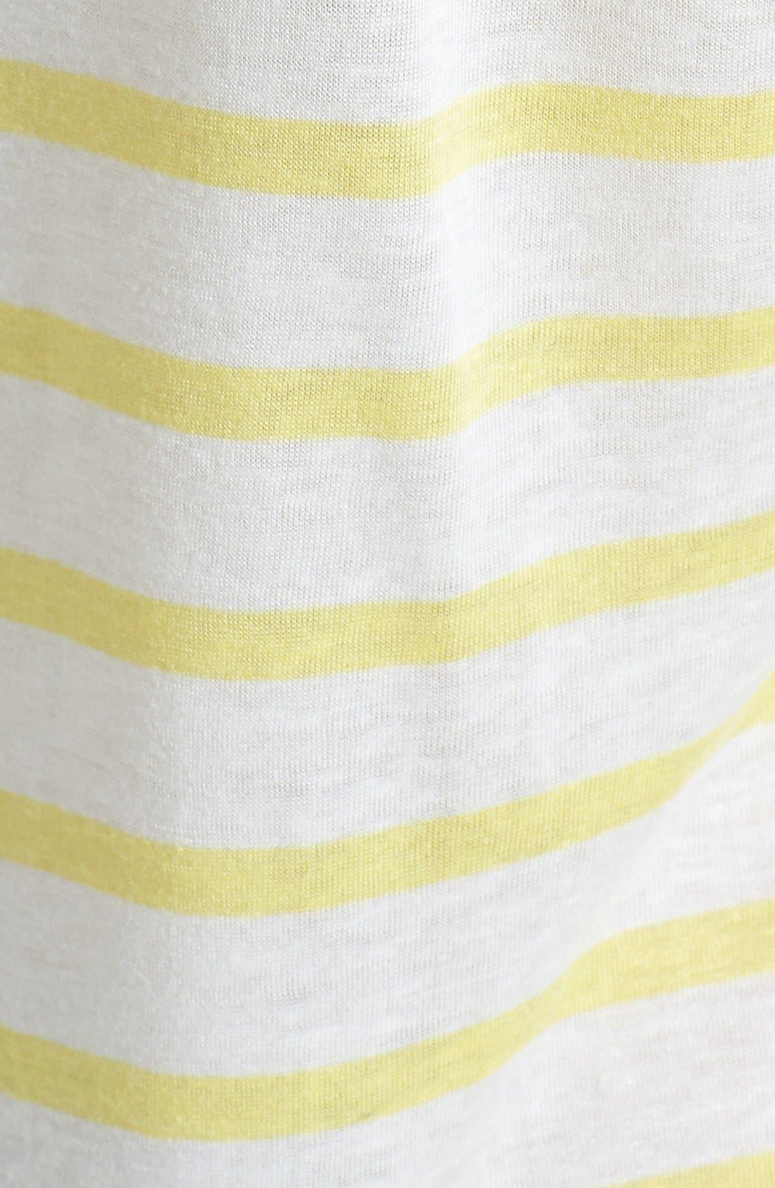 Alternate Image 3  - Caslon® Three Quarter Sleeve Tee
