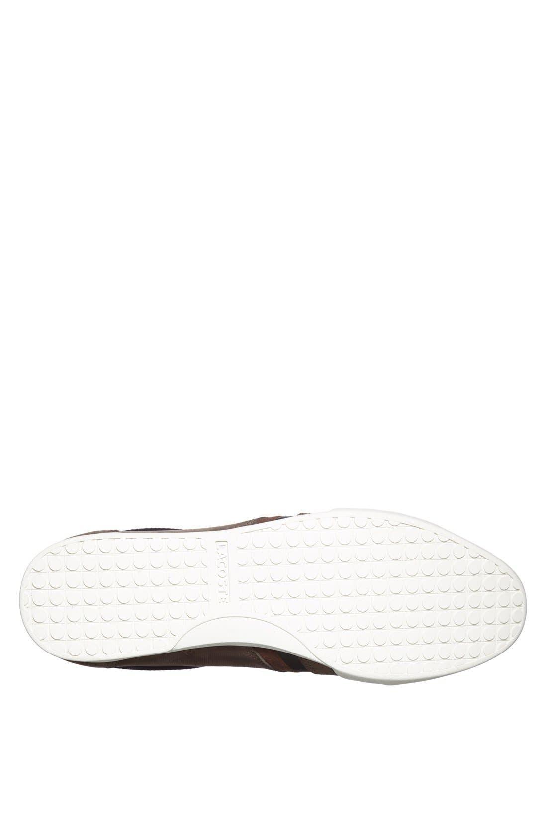 Alternate Image 4  - Lacoste 'Rayford 4' Sneaker (Men)