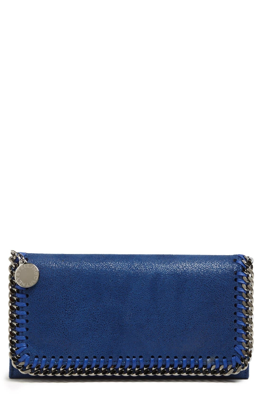 Alternate Image 1 Selected - Stella McCartney 'Falabella Shaggy Deer' Chamois Wallet