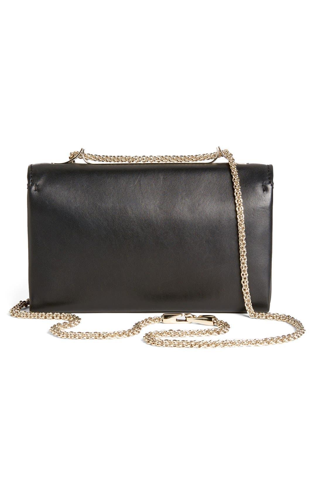 Alternate Image 4  - Valentino 'Va Va Voom' Nappa Leather Shoulder Bag