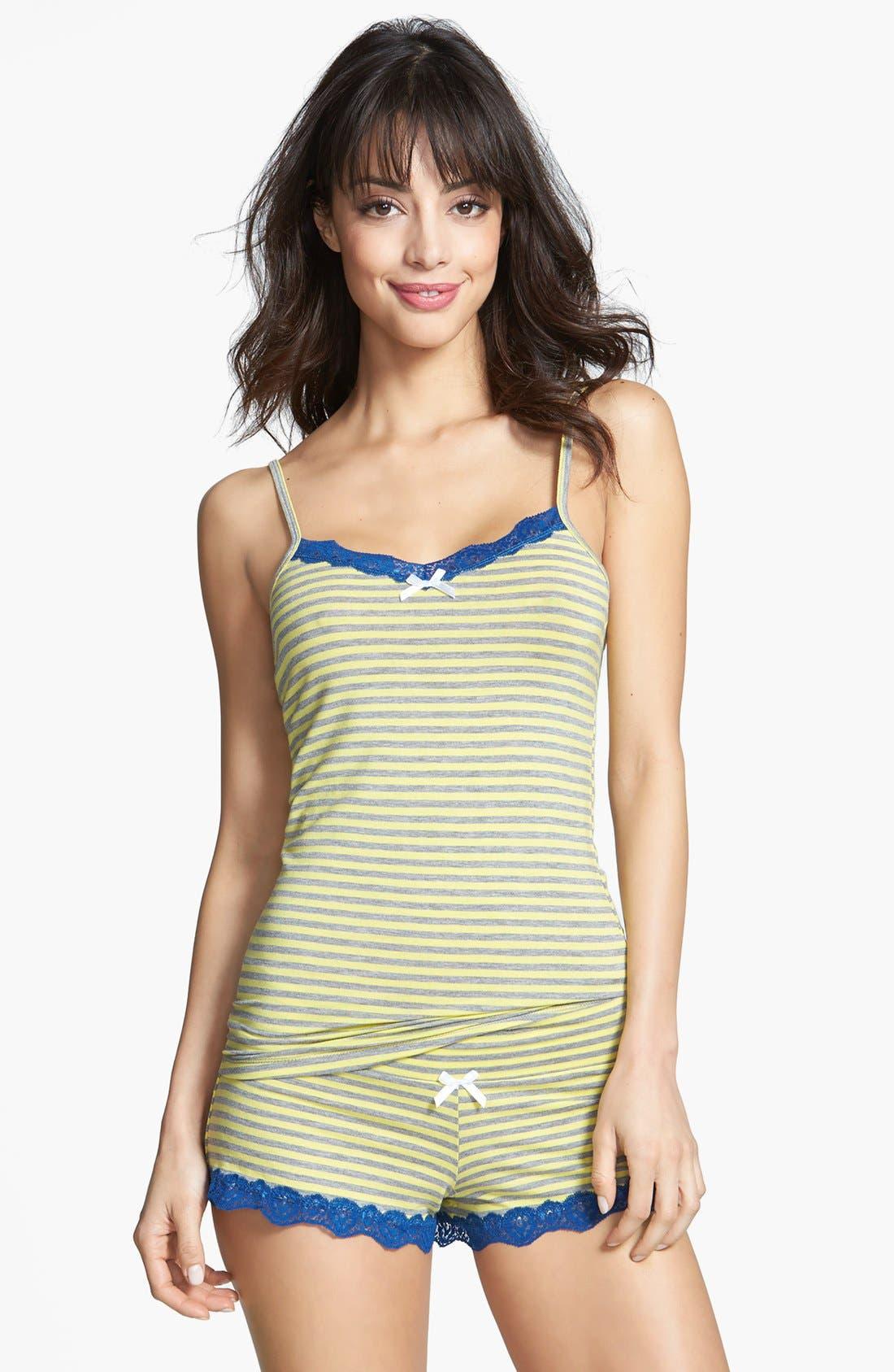 Alternate Image 1 Selected - Honeydew Intimates 'All American' Shorty Pajamas