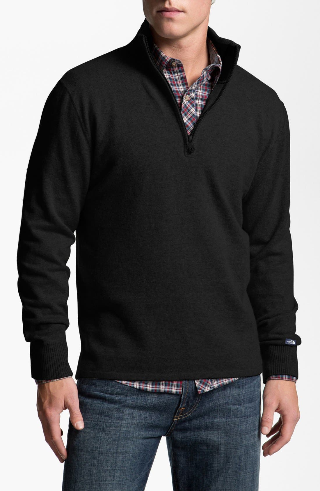 Alternate Image 1 Selected - The North Face 'Mt. Tam' Mock Neck Sweater