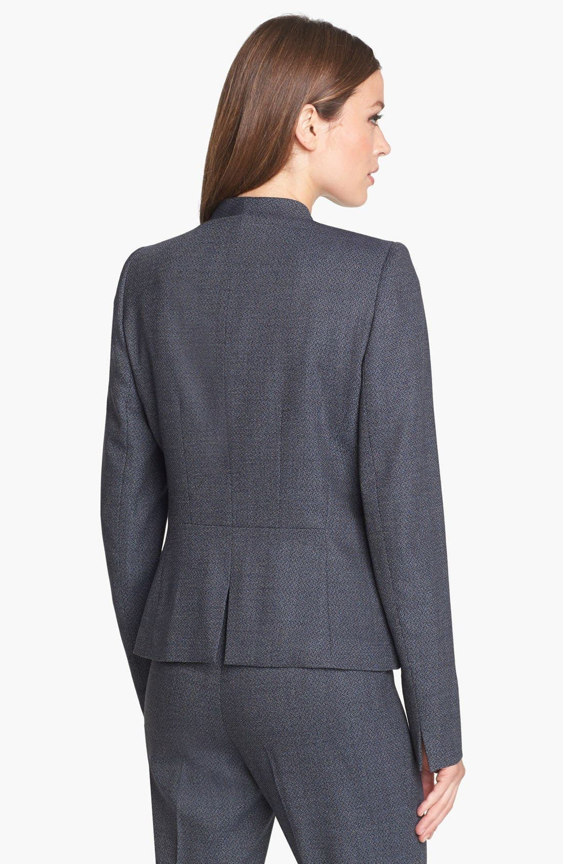 Alternate Image 2  - Lafayette 148 New York 'Kerri' Jacket (Petite)