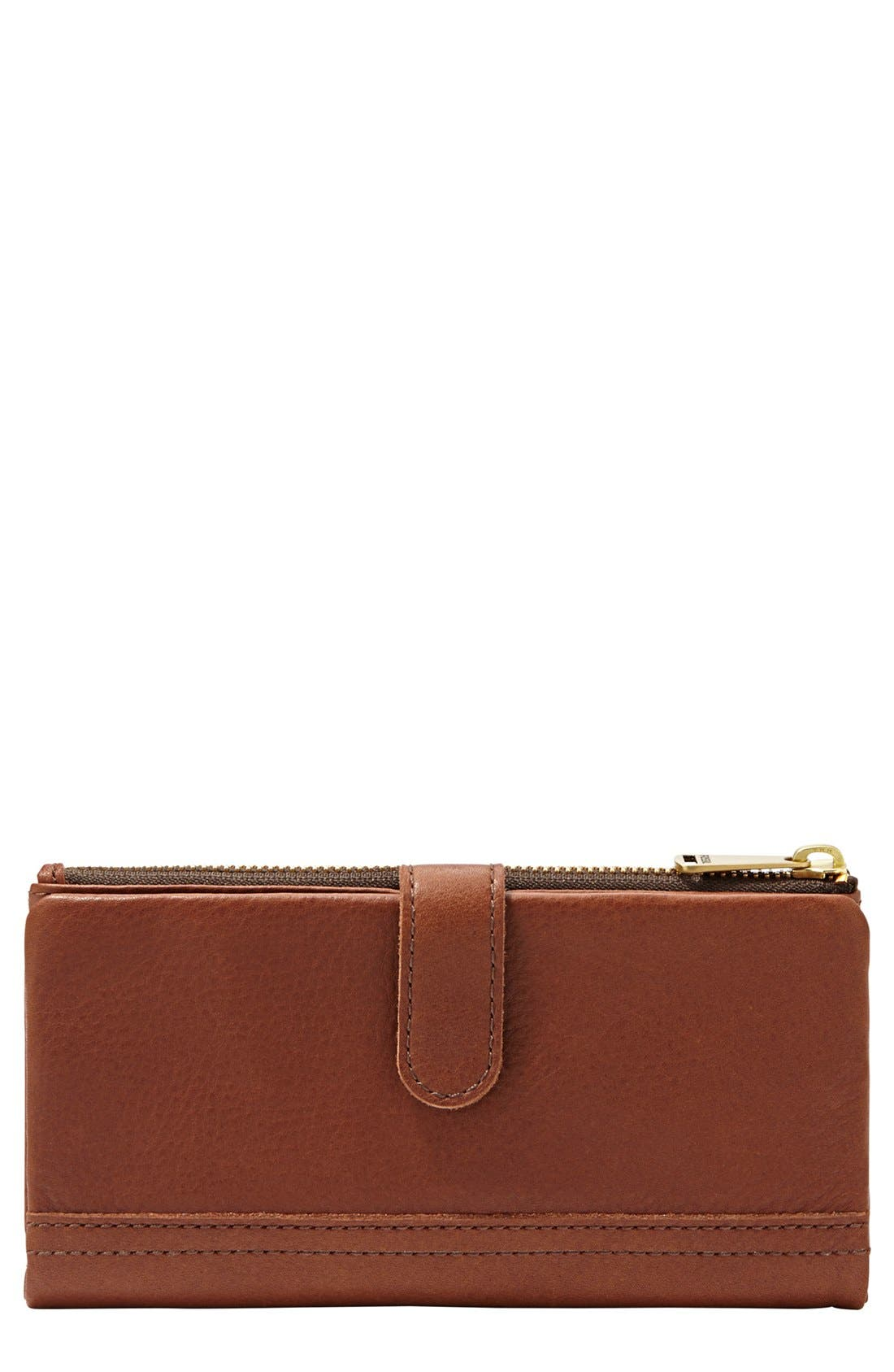 Main Image - Fossil 'Erin' Tab Clutch