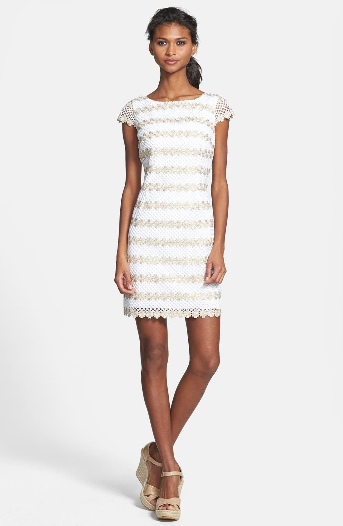 Alternate Image 1 Selected - Lilly Pulitzer® 'Barbara' Lace Shift Dress