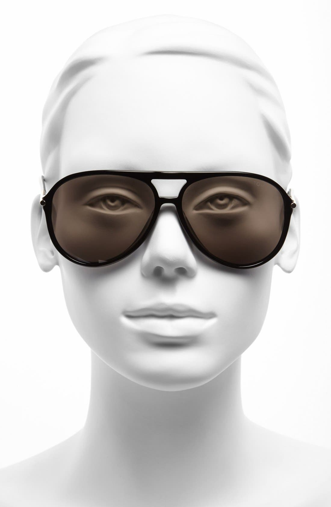 Alternate Image 2  - Tom Ford 59mm Aviator Sunglasses