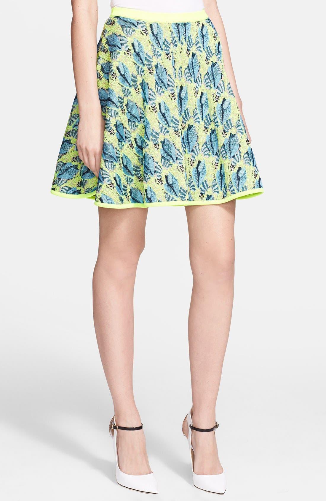 Alternate Image 1 Selected - Mary Katrantzou Jacquard Knit Skirt