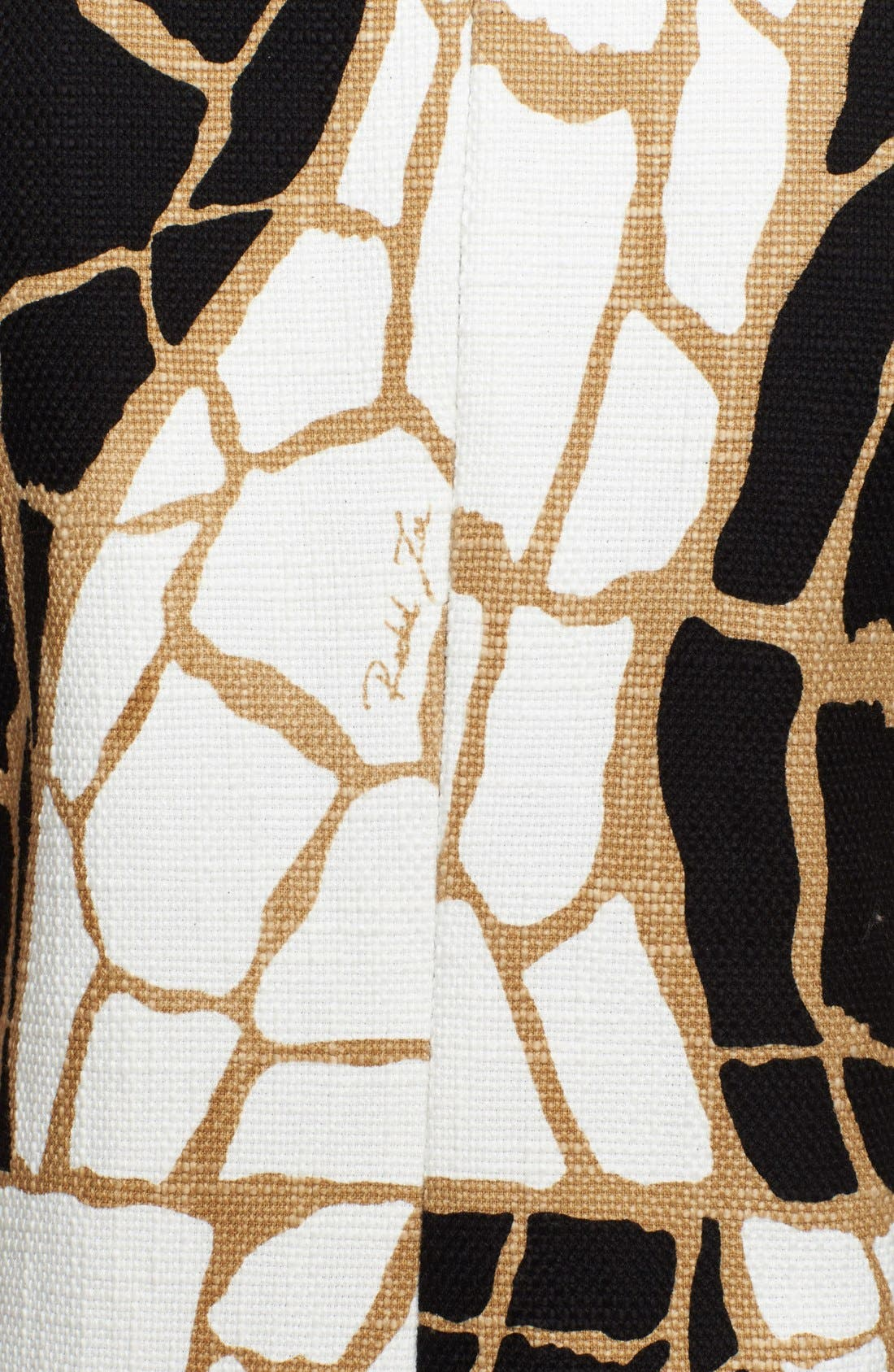 Alternate Image 3  - Rachel Zoe 'Landon' Giraffe Print Dress