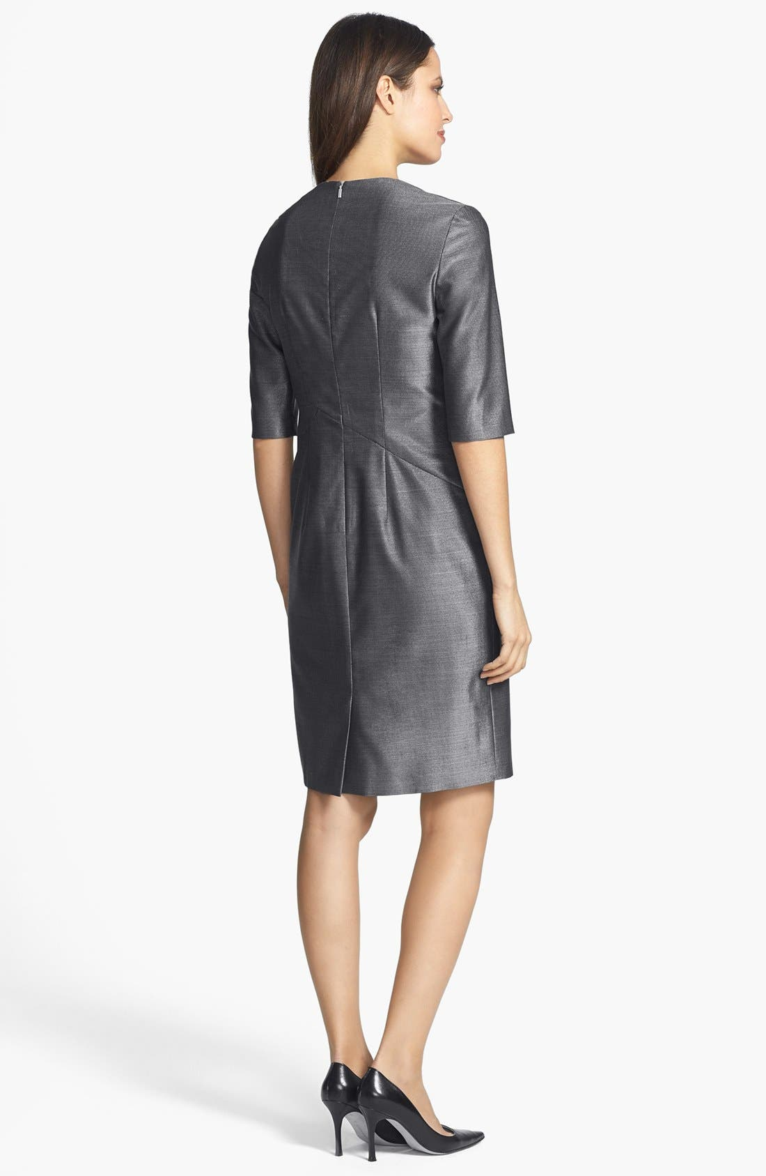 Alternate Image 2  - BOSS HUGO BOSS 'Dipera' Wool Blend Sheath Dress
