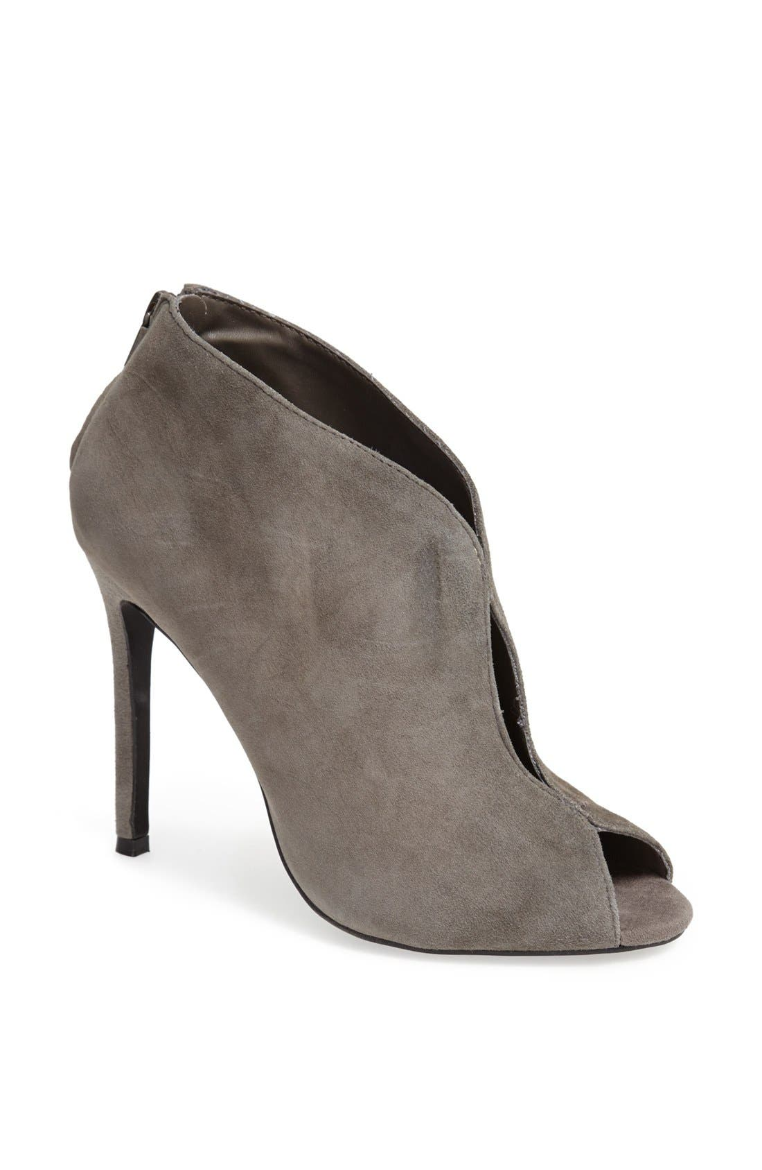 Alternate Image 1 Selected - Steve Madden 'Imaginee' Peep Toe Bootie