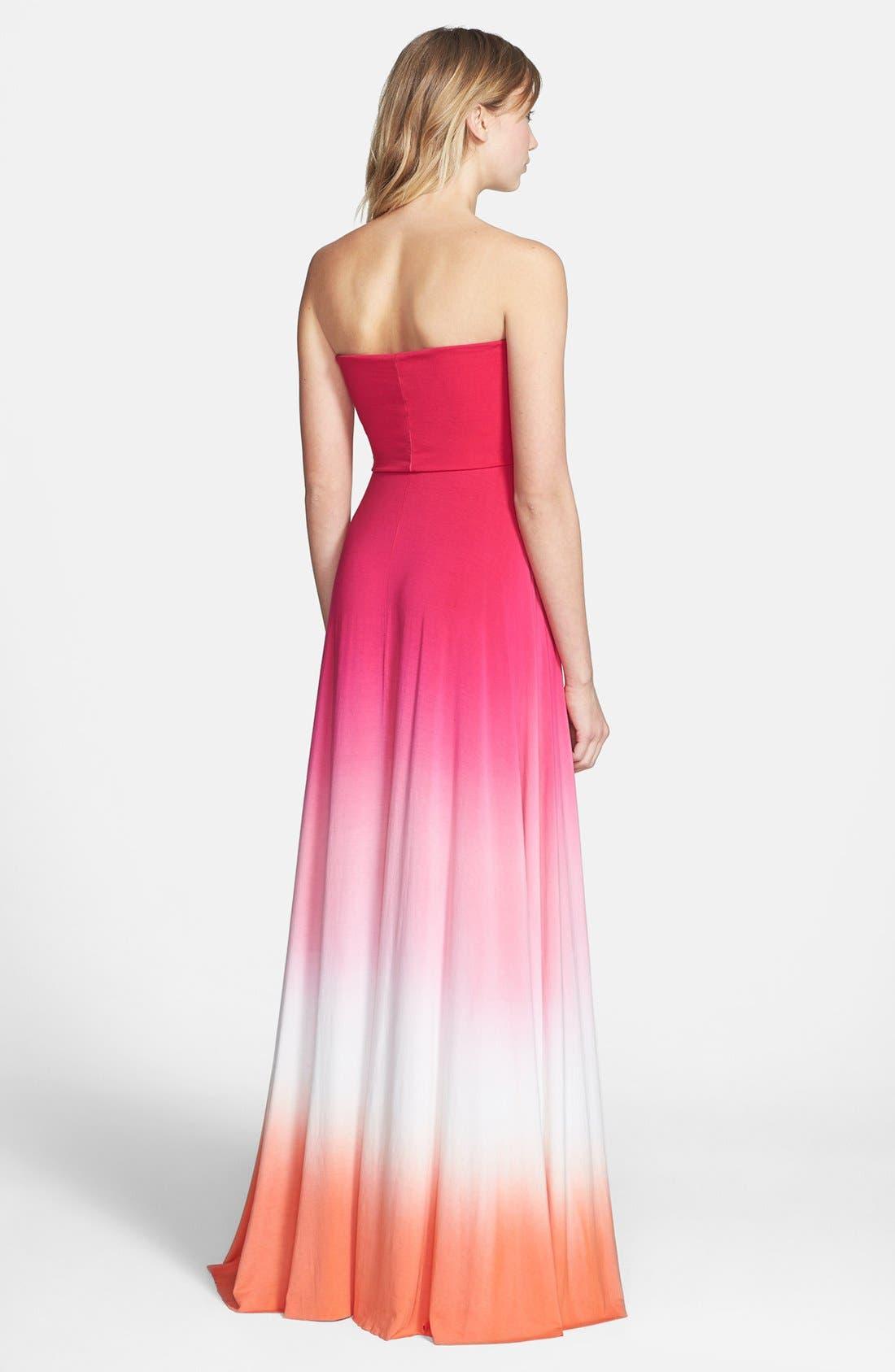 Alternate Image 2  - Young, Fabulous & Broke 'Bangal' Convertible Maxi Dress