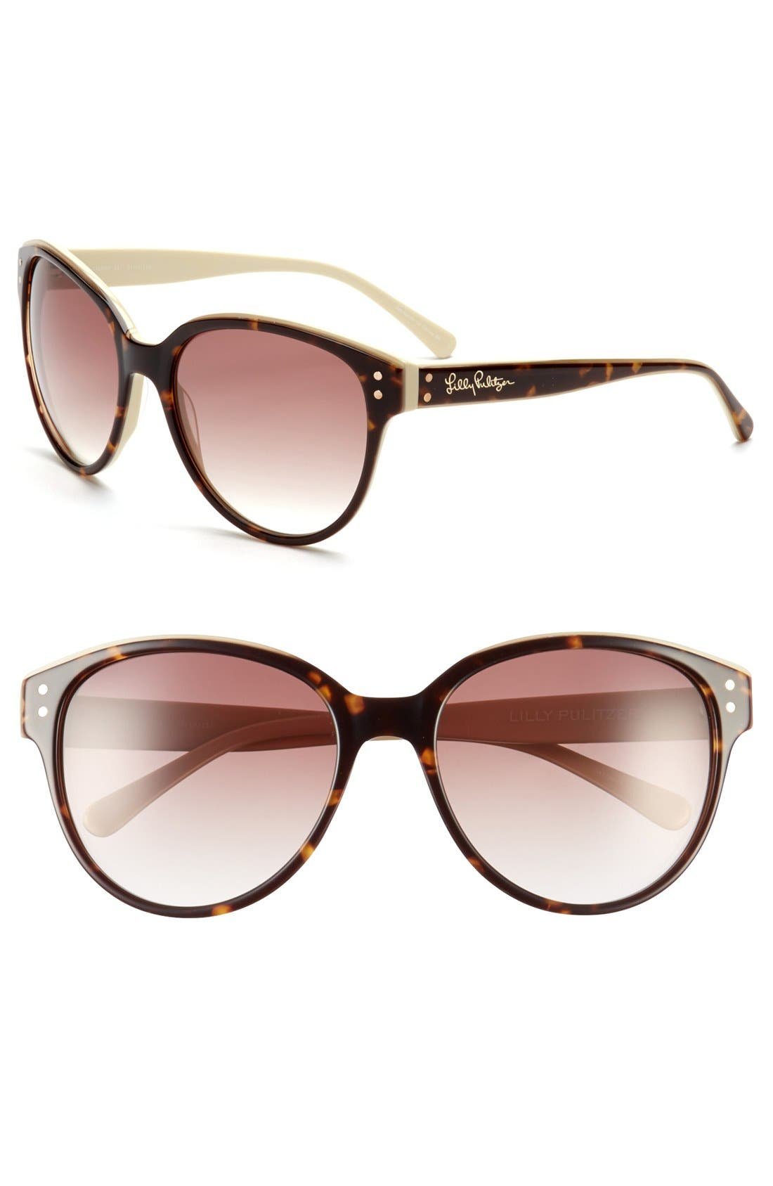 Alternate Image 1 Selected - Lilly Pulitzer® 'Cassidy' 58mm Sunglasses