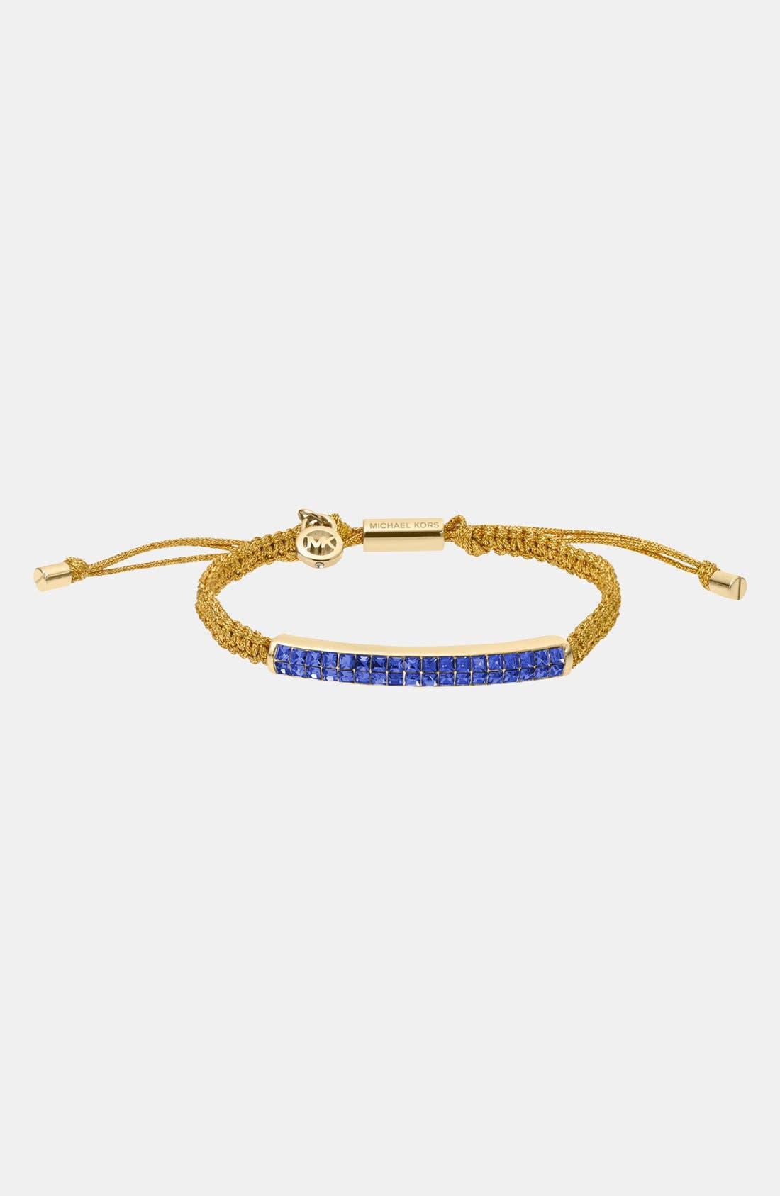 Alternate Image 1 Selected - Michael Kors 'Brilliance' Macramé Bracelet