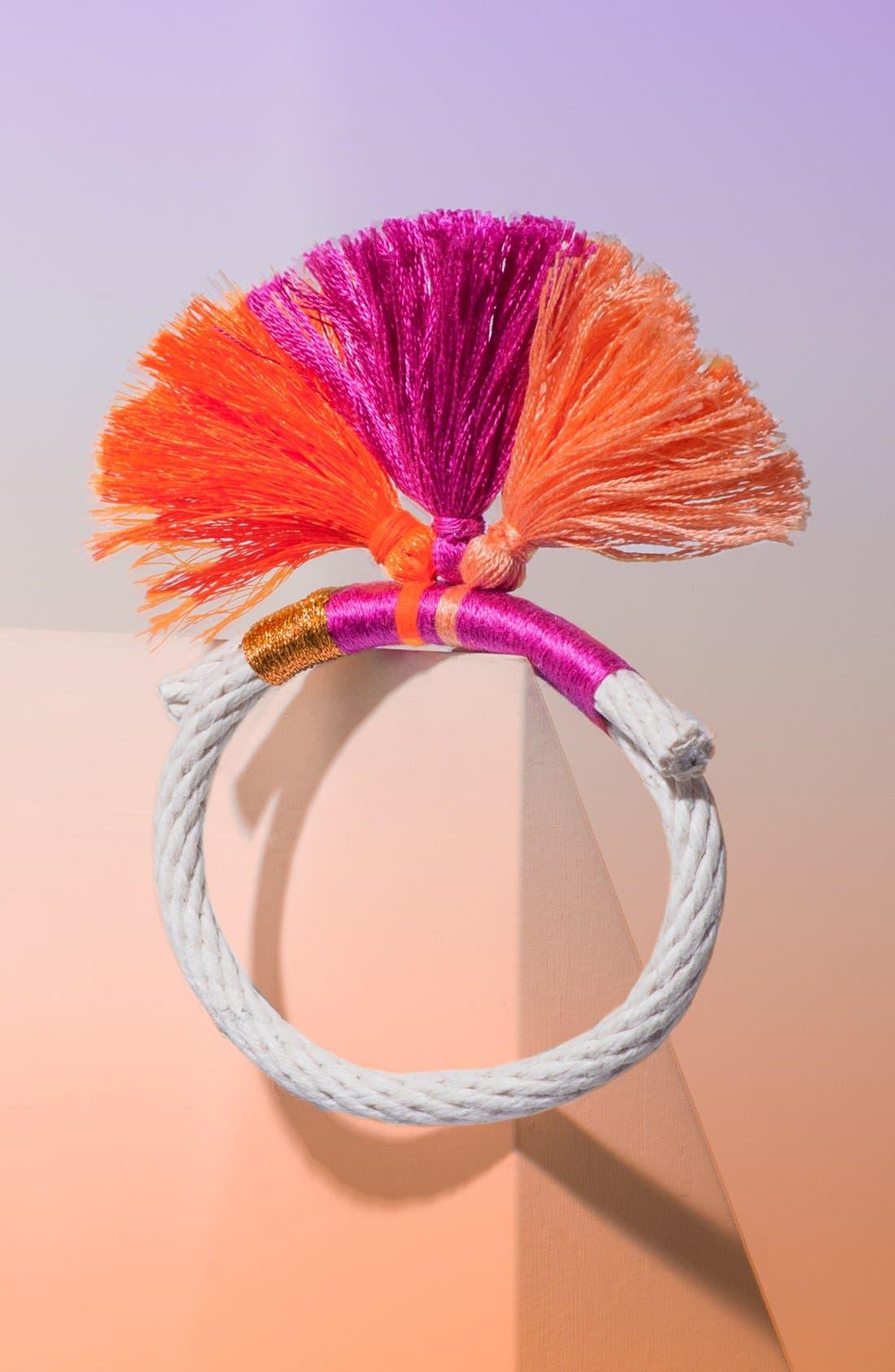Alternate Image 1 Selected - Krysos + Chandi 'Nima Tassel' Bracelet