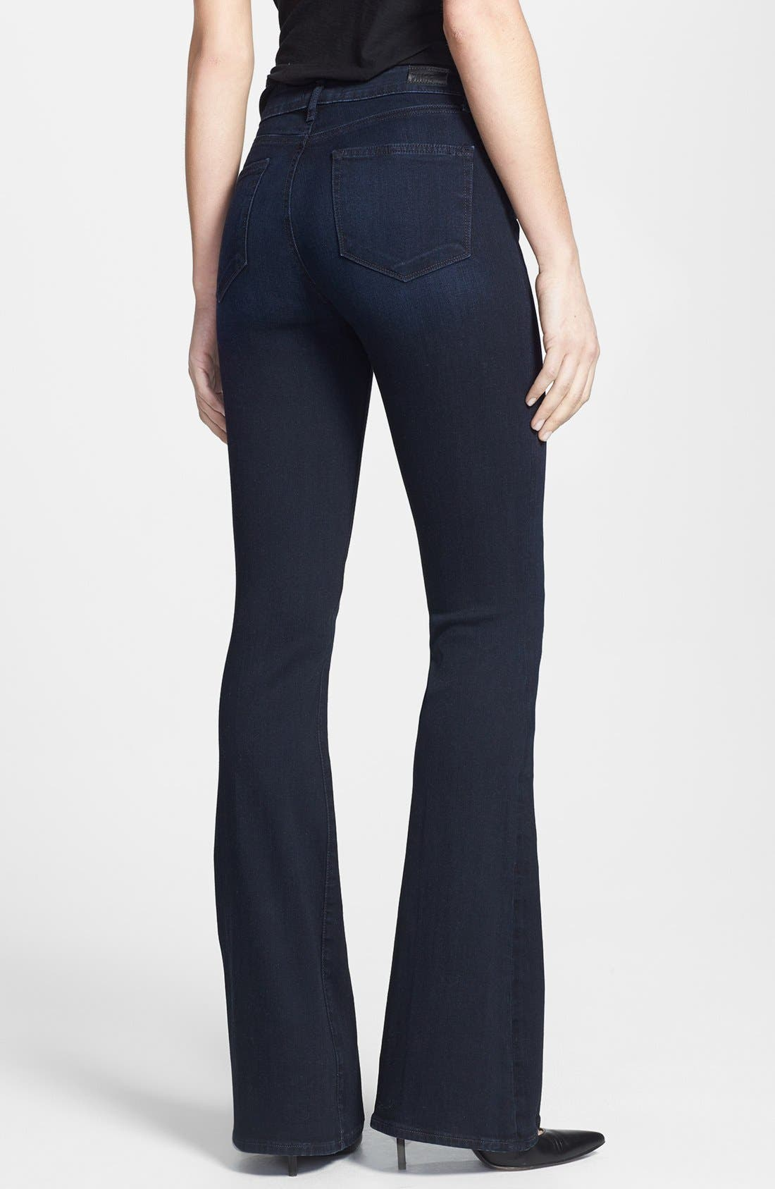 Alternate Image 2  - Paige Denim 'Canyon' High Rise Bell Bottom Jeans (Peyton)