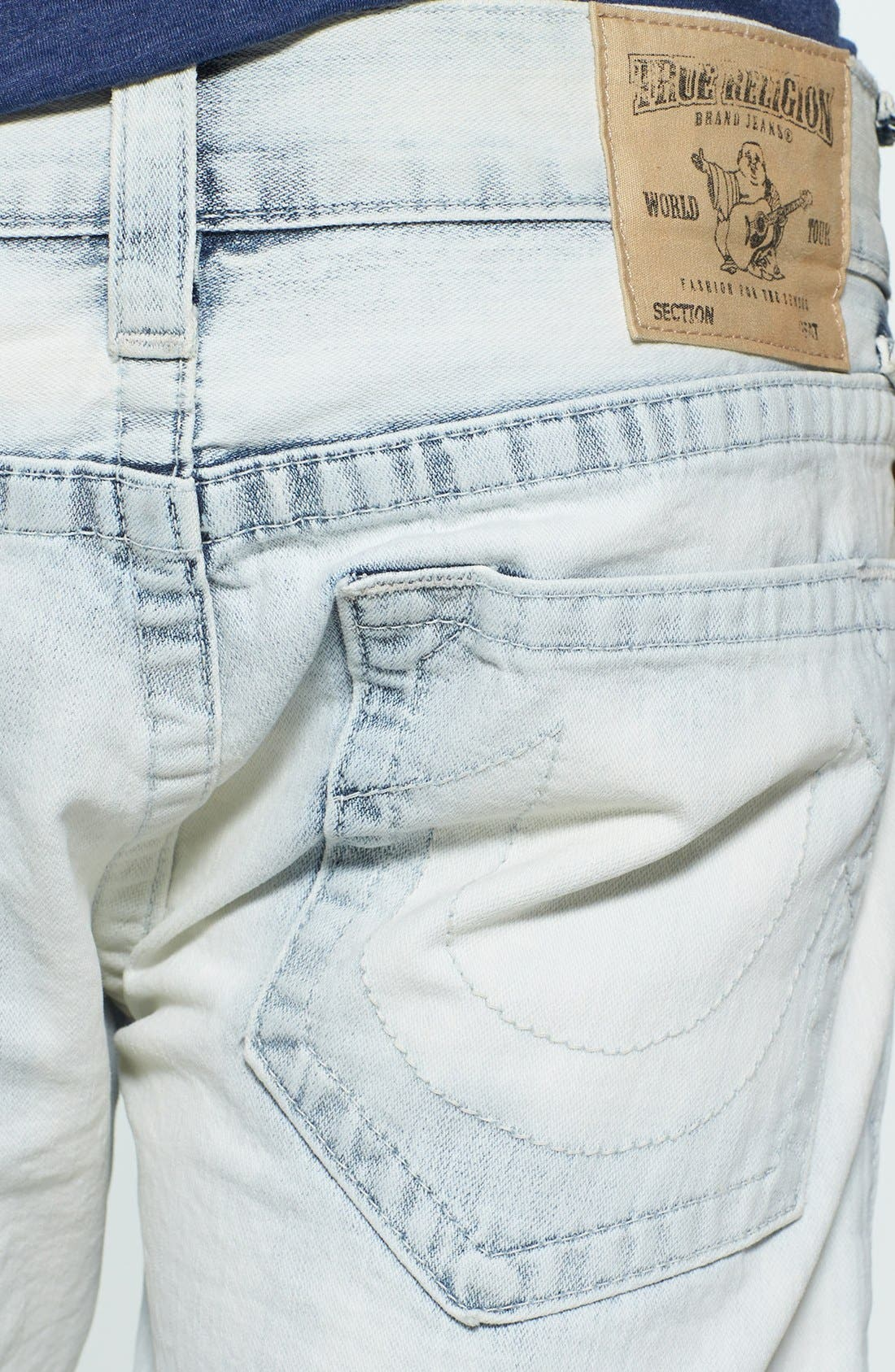 Alternate Image 3  - True Religion Brand Jeans 'Geno' Cutoff Denim Shorts
