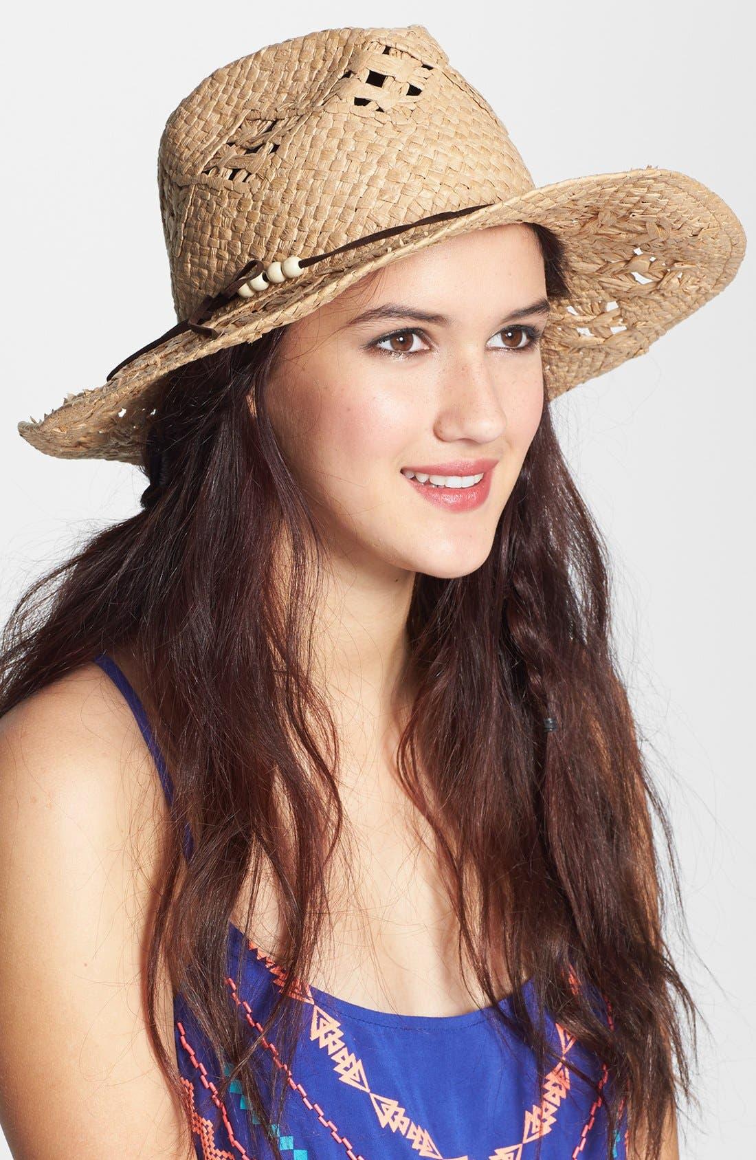 Alternate Image 1 Selected - BP. Cowboy Hat (Juniors)