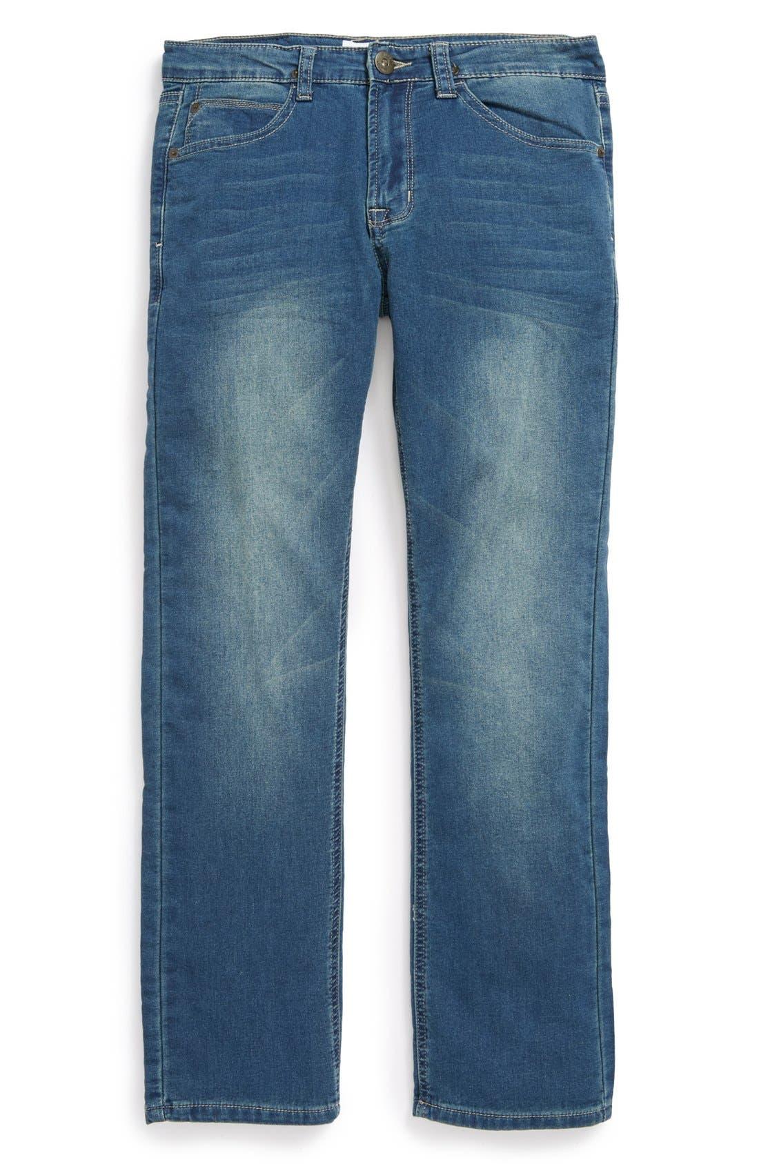 Alternate Image 2  - Hudson Kids 'Parker' Straight Leg Jeans (Little Boys)