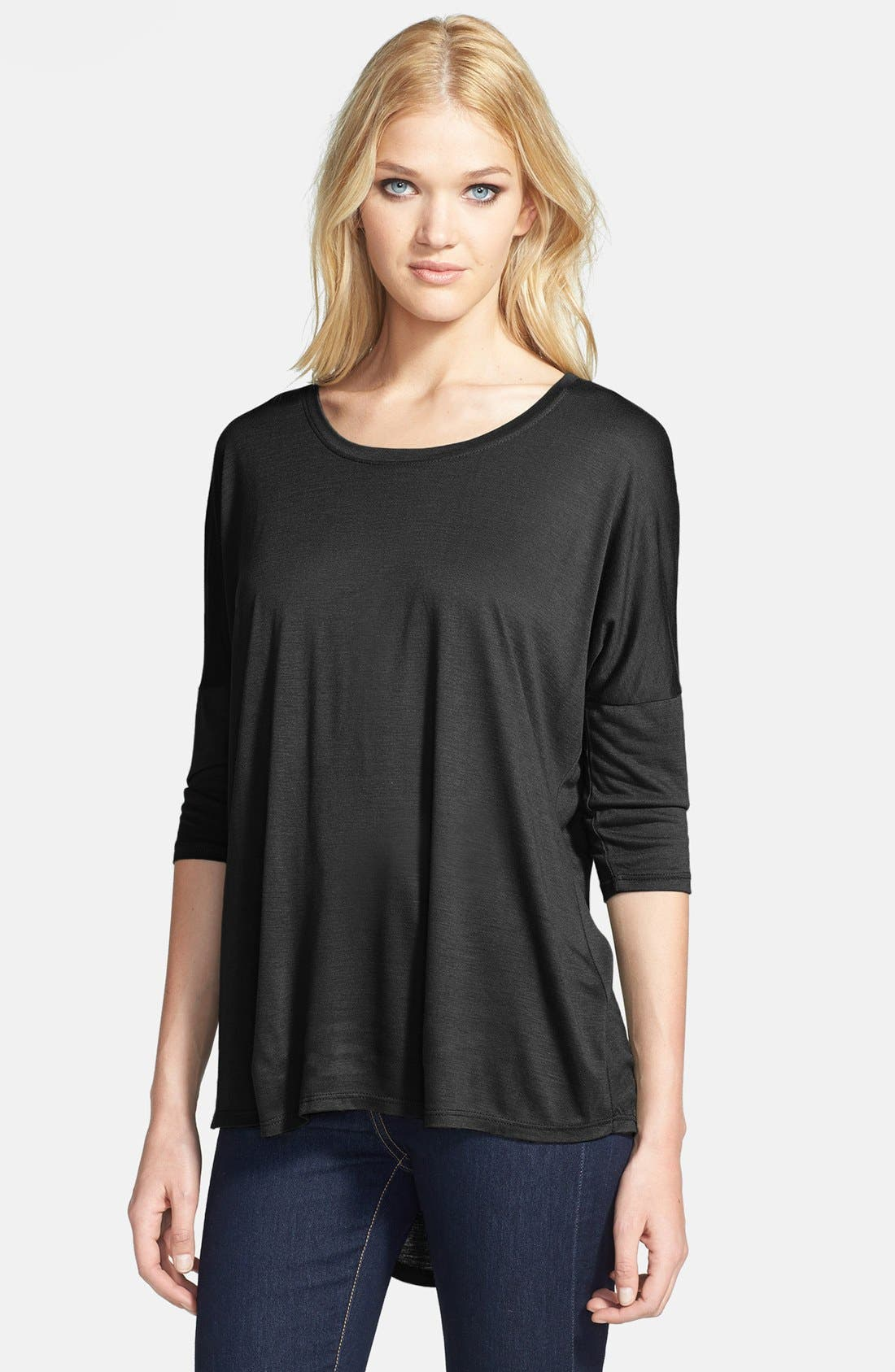 Alternate Image 1 Selected - Madison & Berkeley Dolman Sleeve Jersey Top