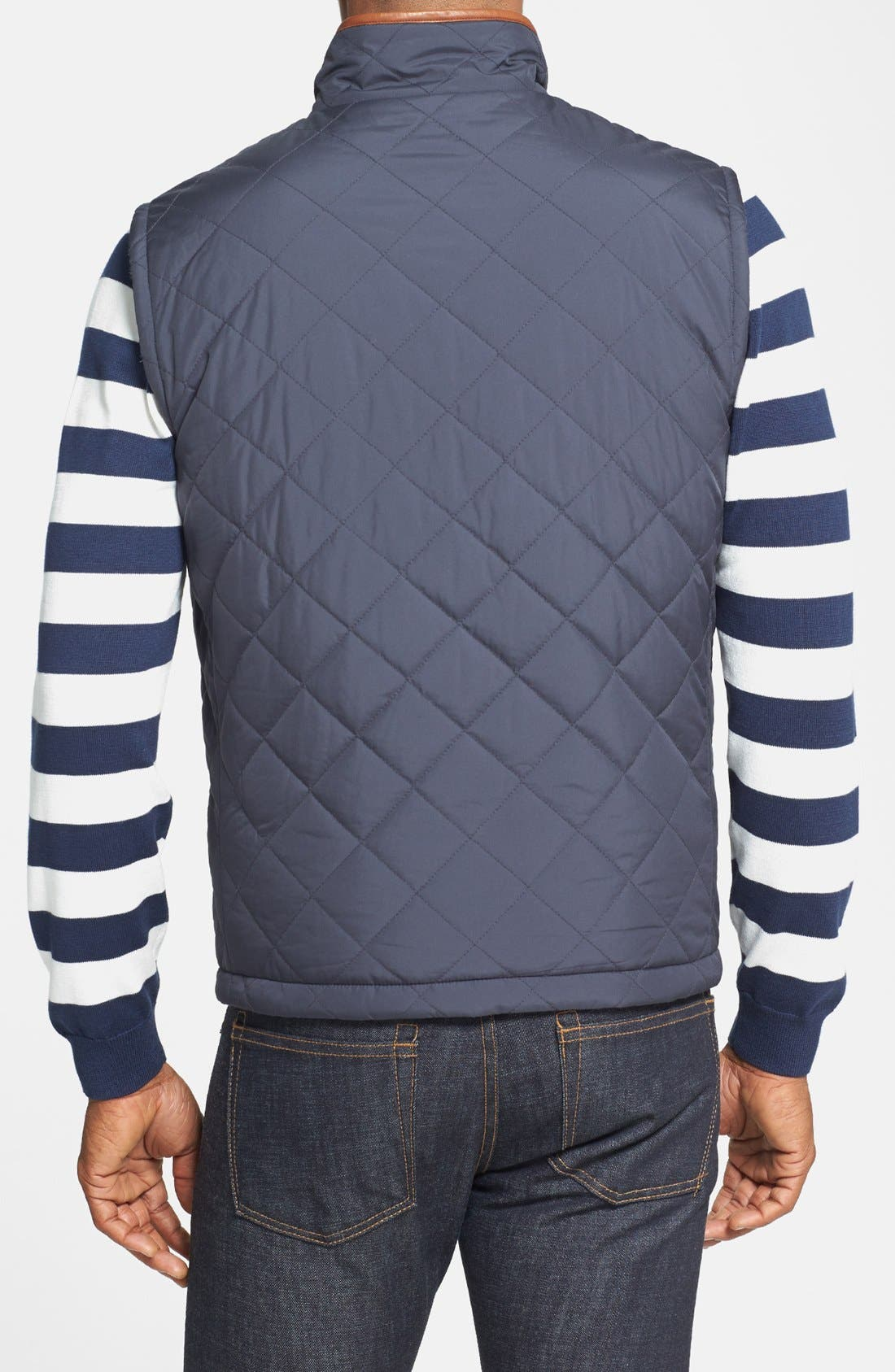 Alternate Image 3  - Brooks Brothers Reversible Quilted Vest