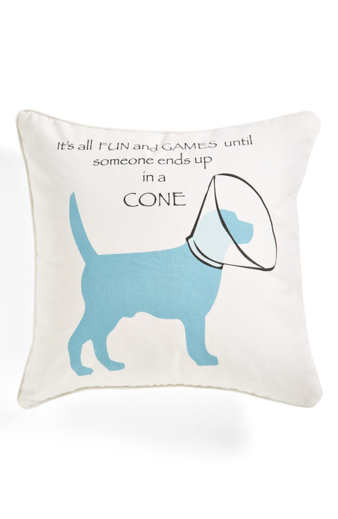 Main Image - Levtex 'Fun and Games' Square Pillow