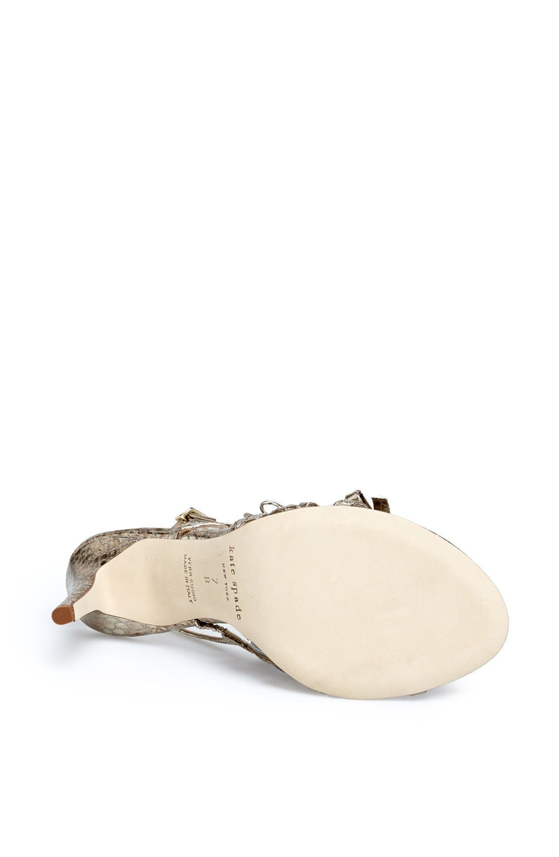 Alternate Image 4  - kate spade new york 'sally' sandal (Women)