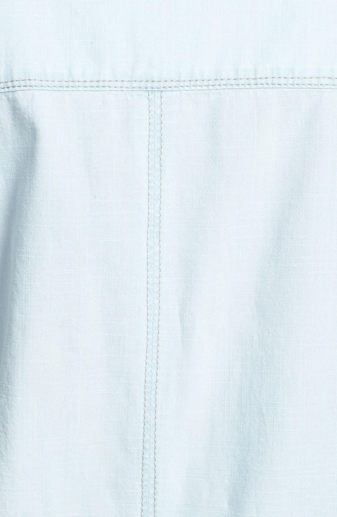 Alternate Image 3  - Hinge® Boyfriend Chambray Shirt