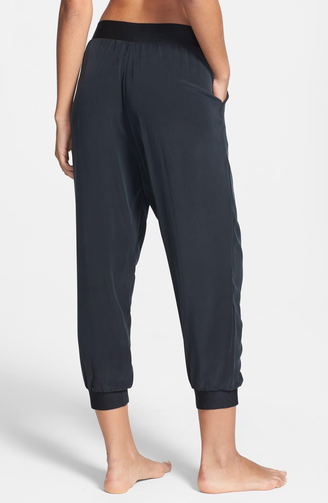 Alternate Image 2  - Lole 'Asha' Silk Capri Pants