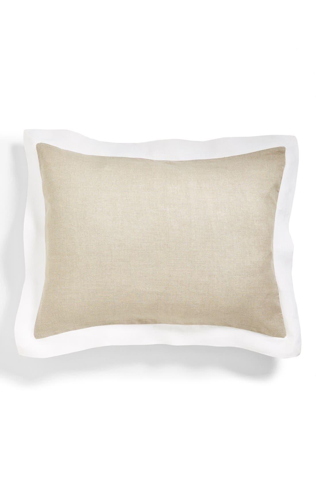 Alternate Image 1 Selected - Amity Home 'Benedetto' Linen Pillow Sham